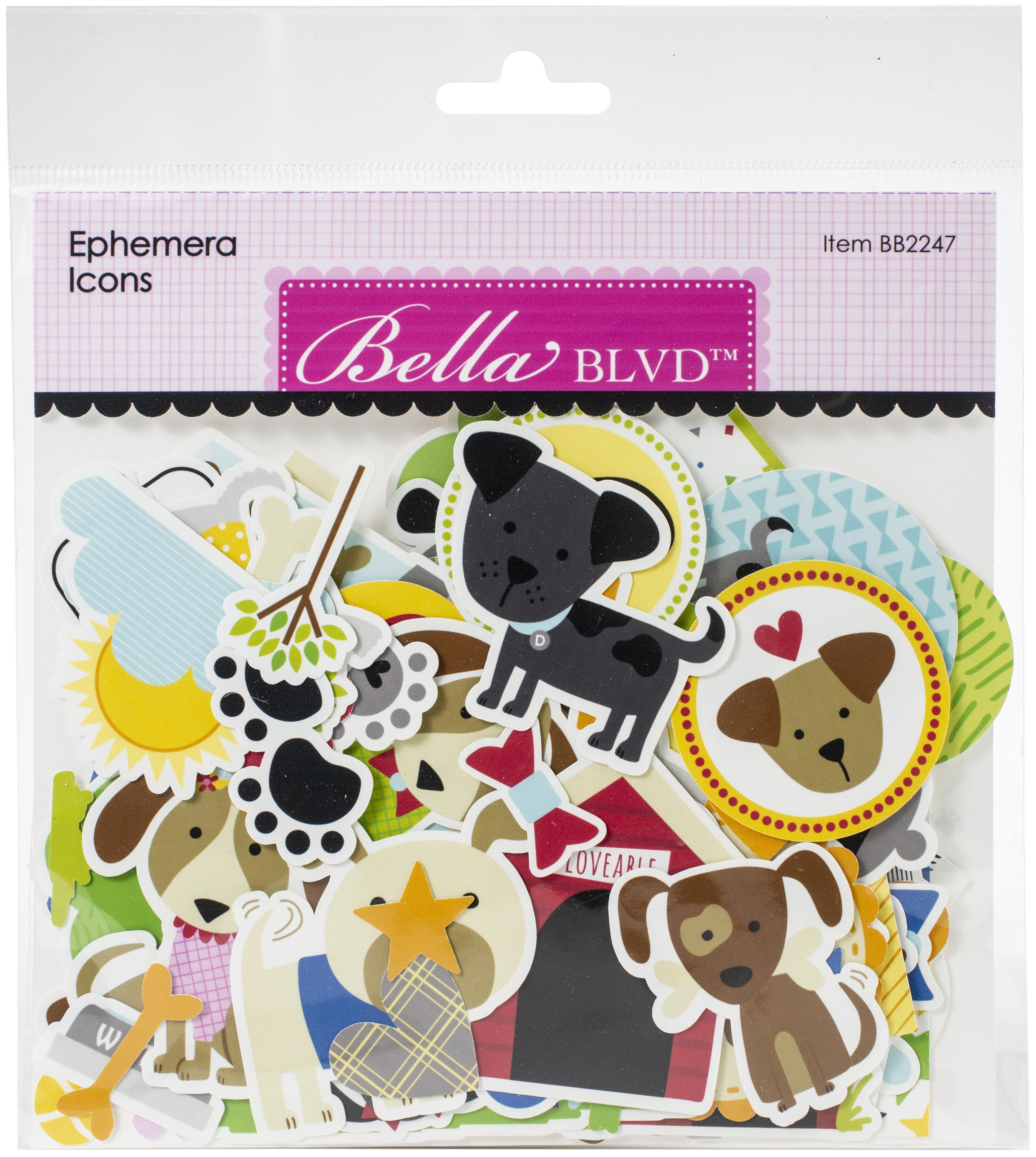 Bella Blvd Cardstock Ephemera-Icons, Cooper