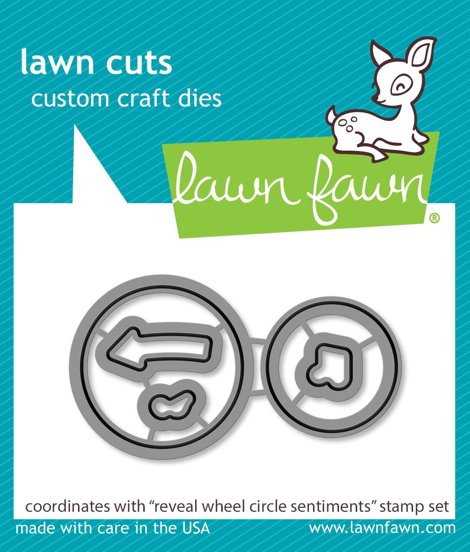 Lawn Cuts Custom Craft Die-Reveal Wheel Circle Sentiments