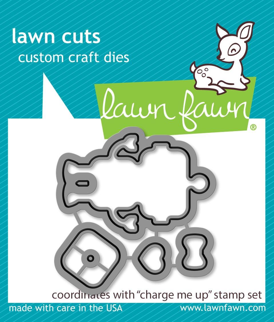 Lawn Cuts Custom Craft Die-Charge Me Up