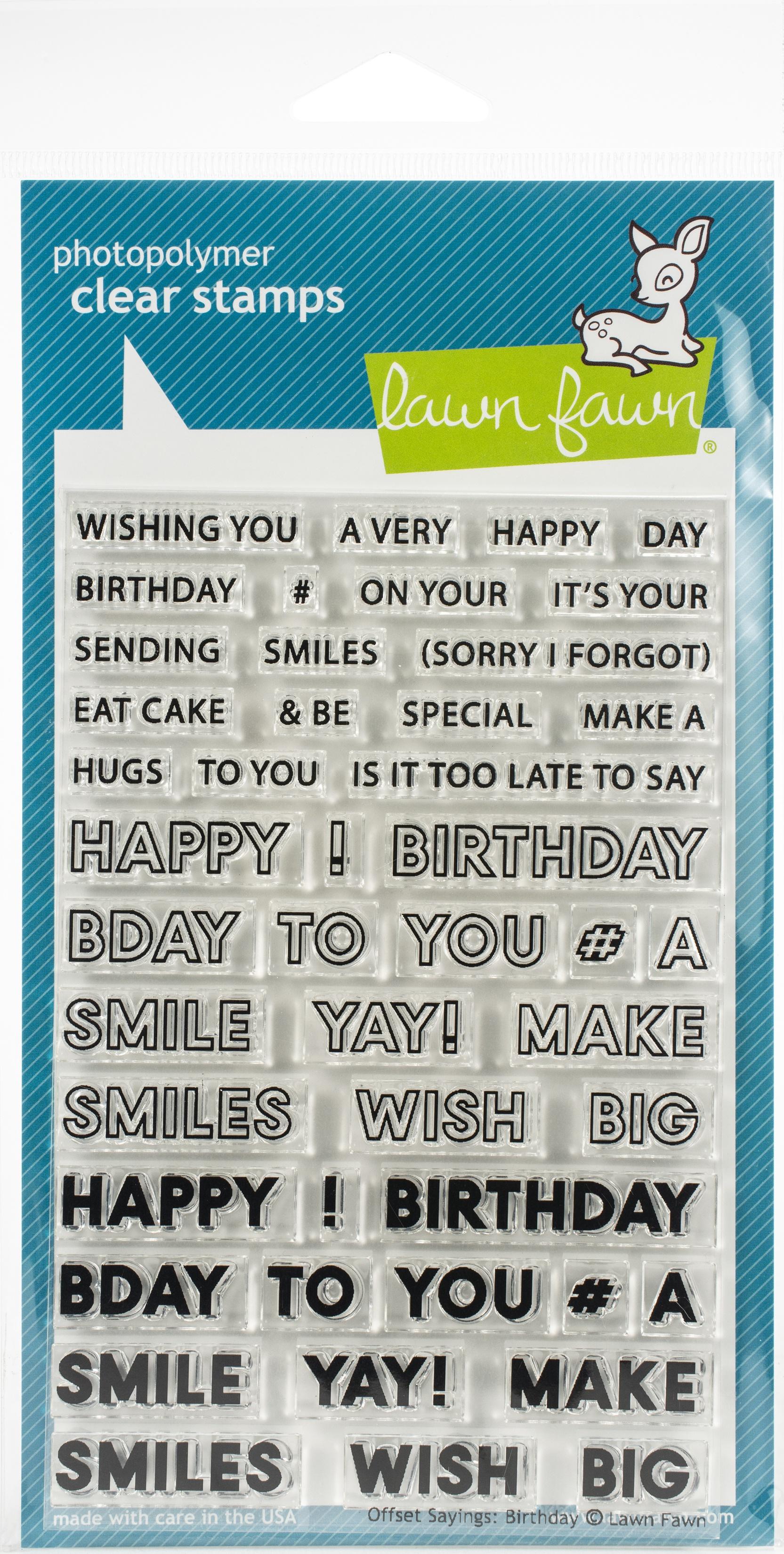 L% Offset Birthday