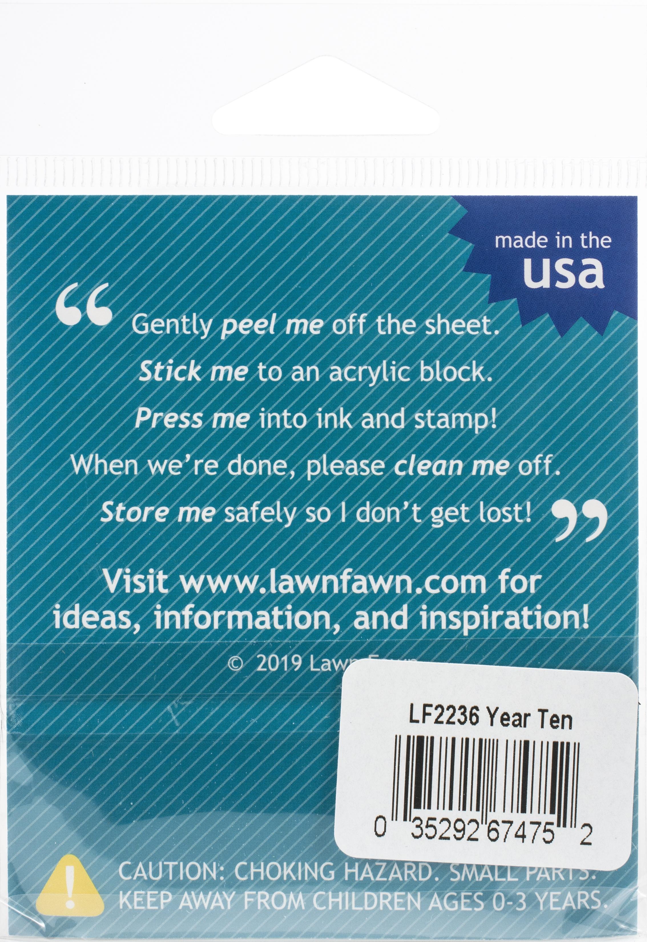 Year Ten Stamp