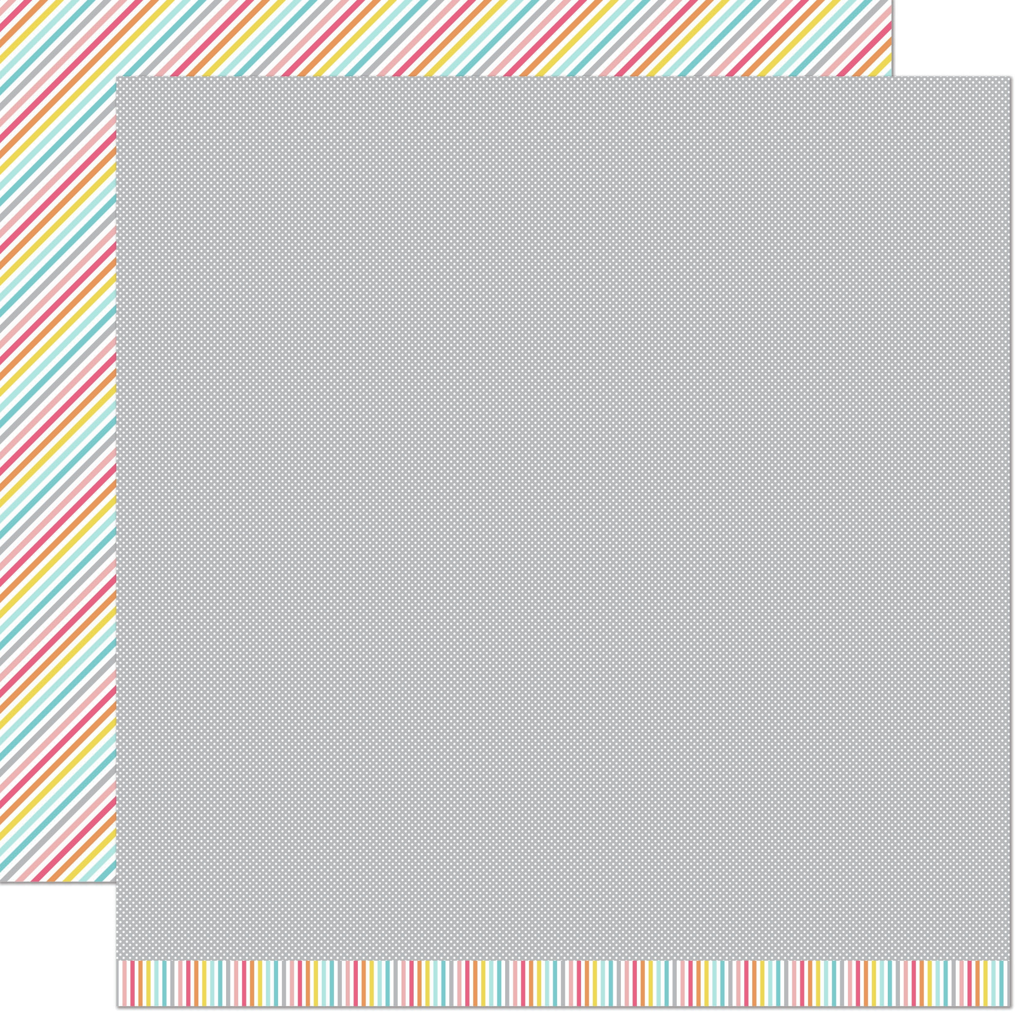 Lawn Fawn Hello Sunshine Double-Sided Cardstock 12X12-Stella Remix
