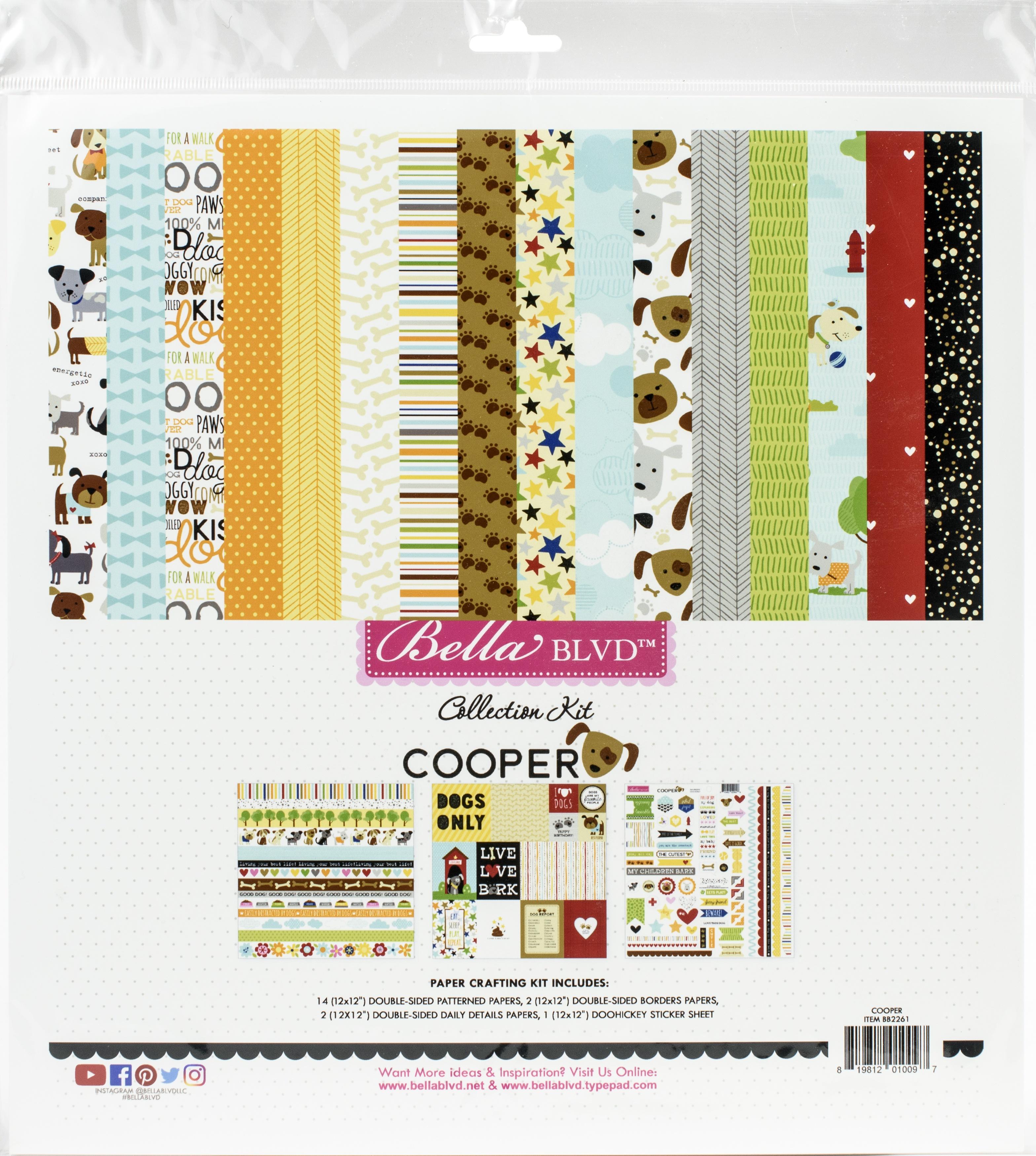 Bella Blvd Collection Kit 12X12-Cooper