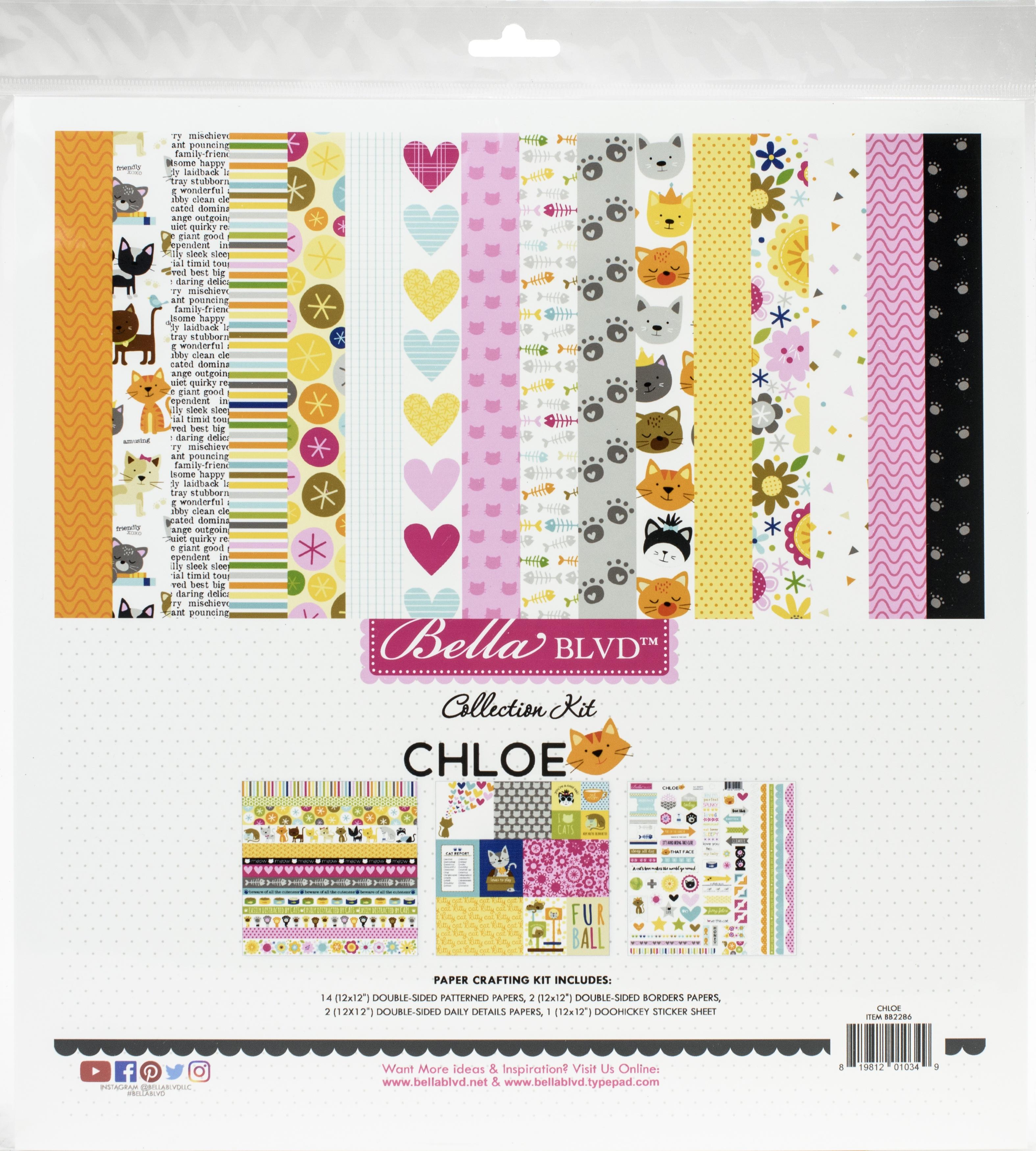 Bella Blvd Collection Kit 12X12-Chloe