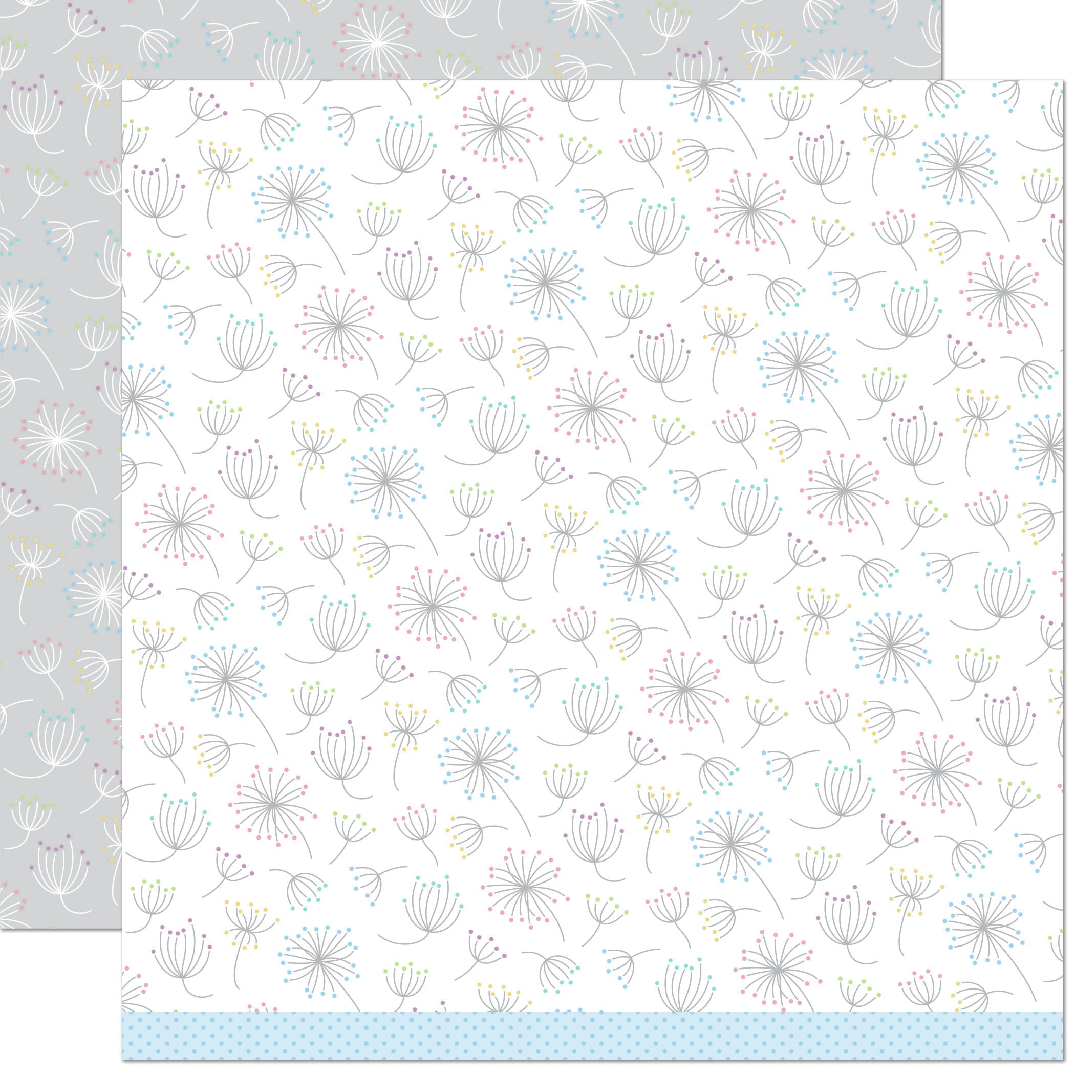 Lawn Fawn Dandy Day Double-Sided Cardstock 12X12 -Be Yourself