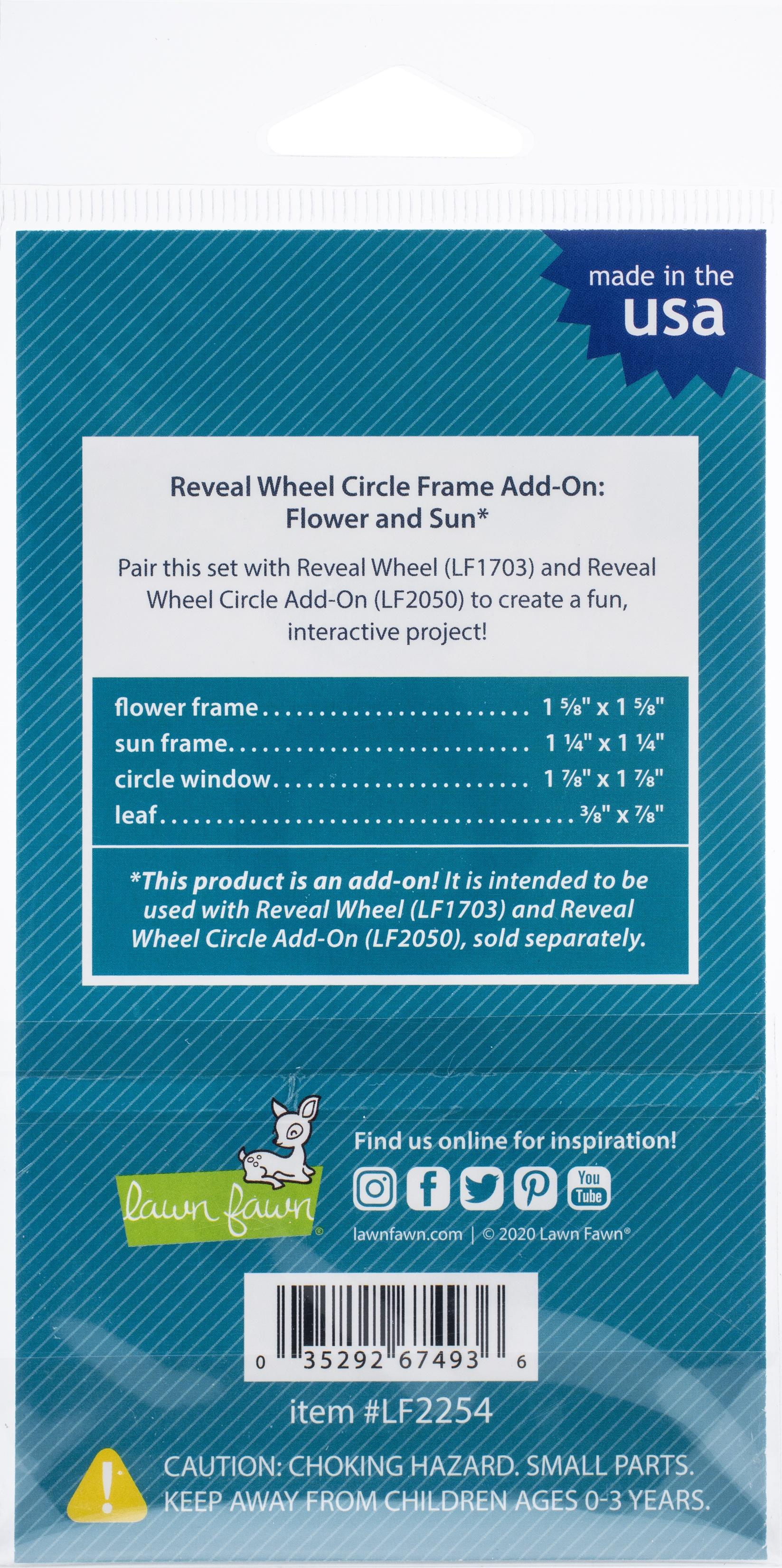 RW Cir Add-On Frame Flower/Sun