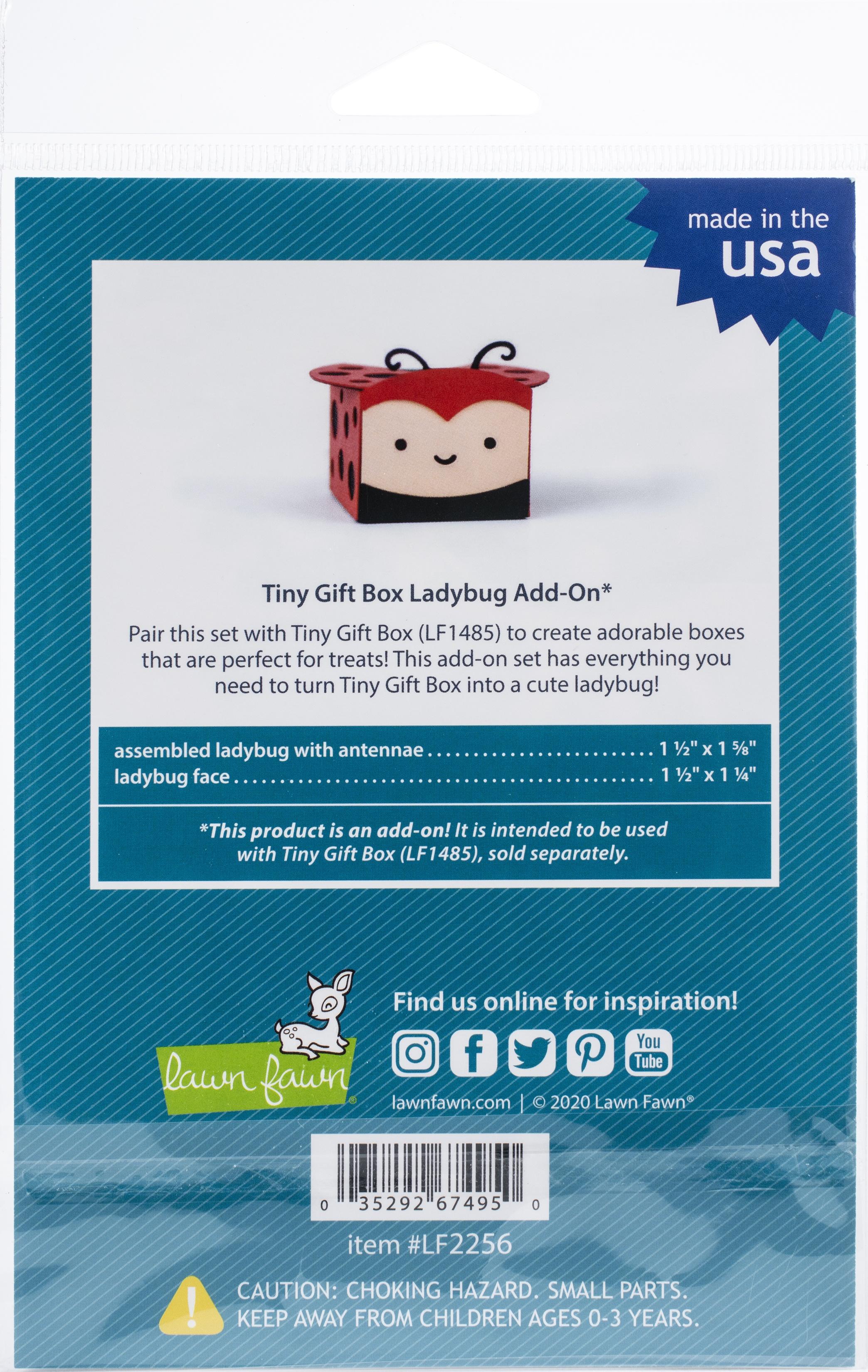 Tiny Gift Box Ladybug Add-On