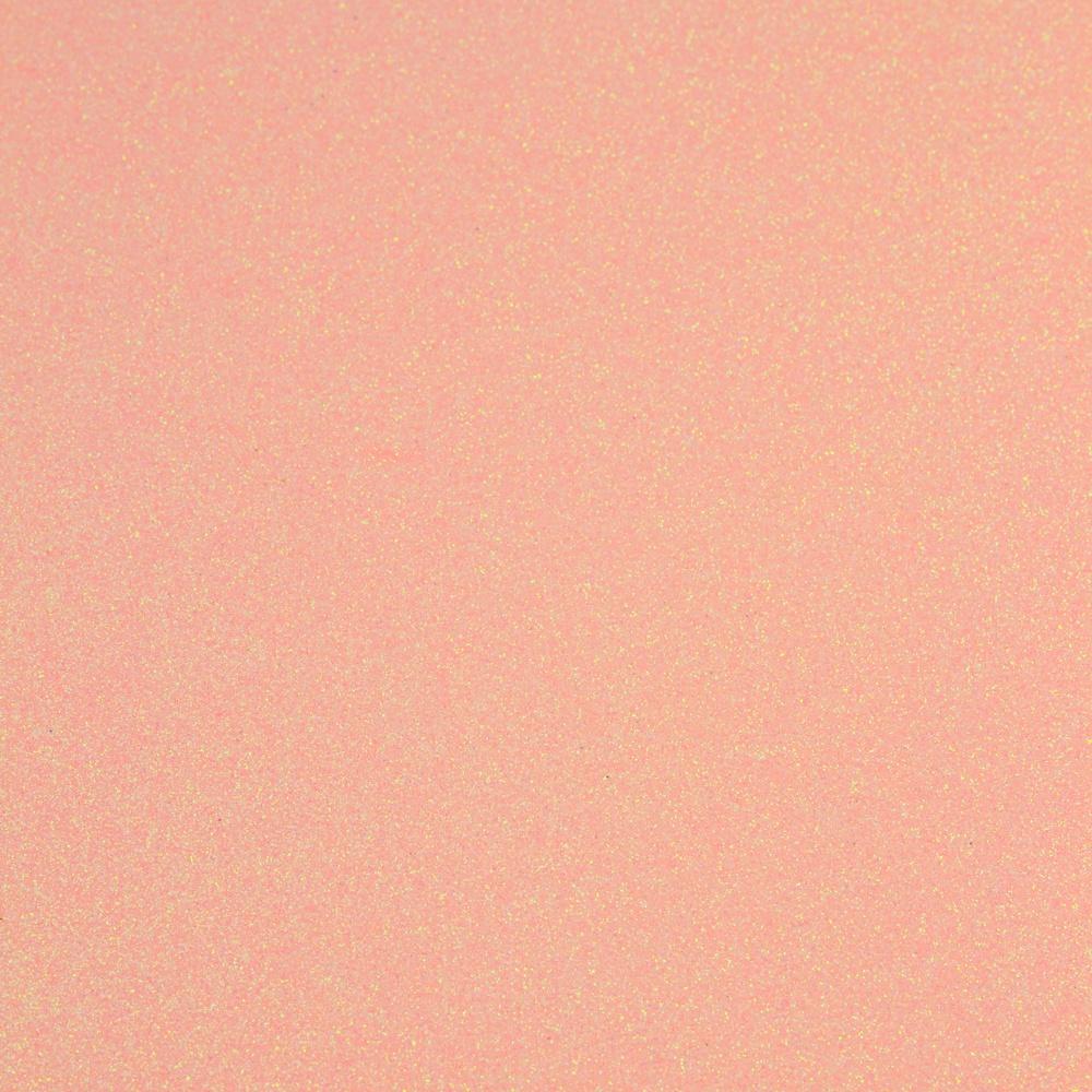 Glitter Cardstock 8.5X11 5/Pkg-Pink Frosting
