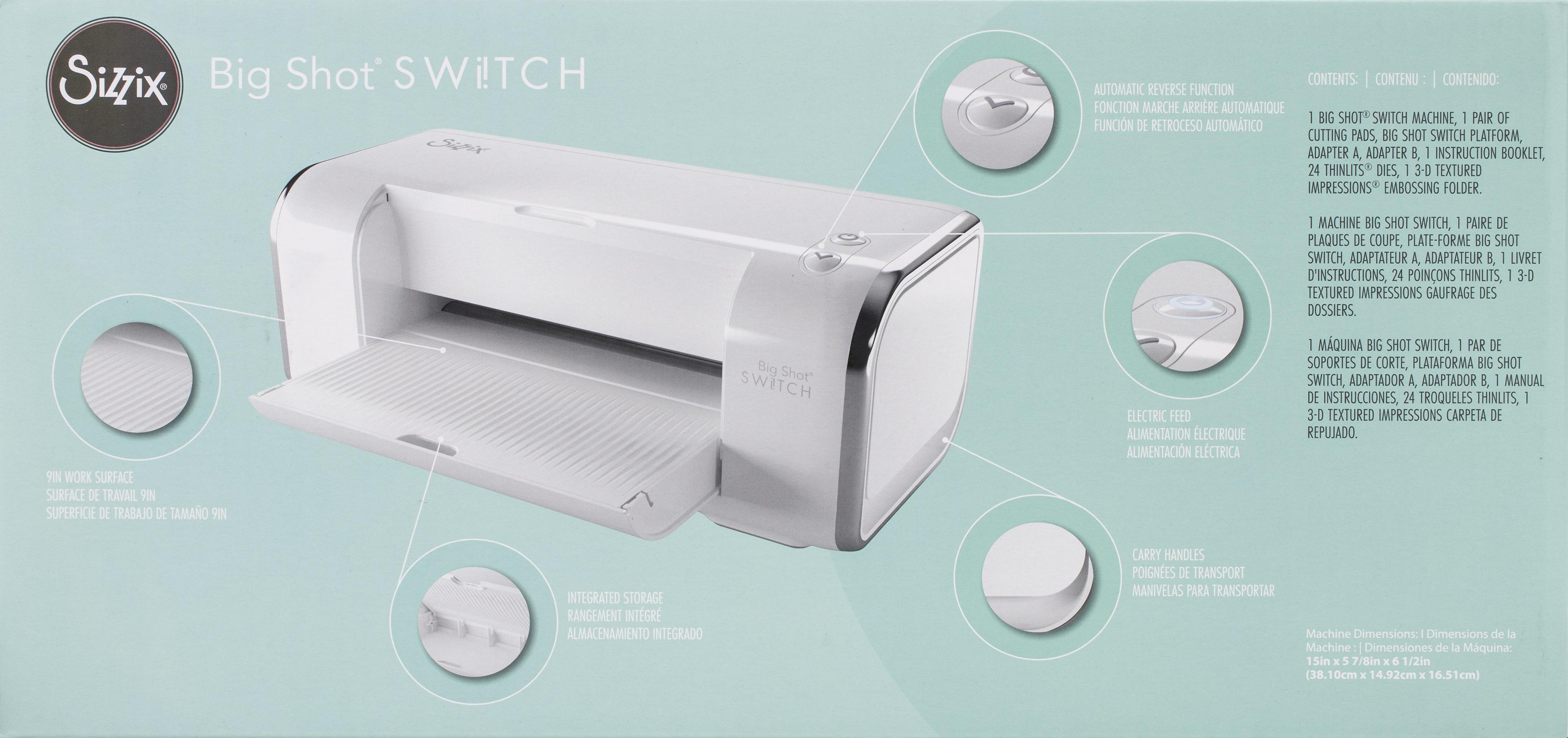 Sizzix Big Shot Switch Machine and starter kit