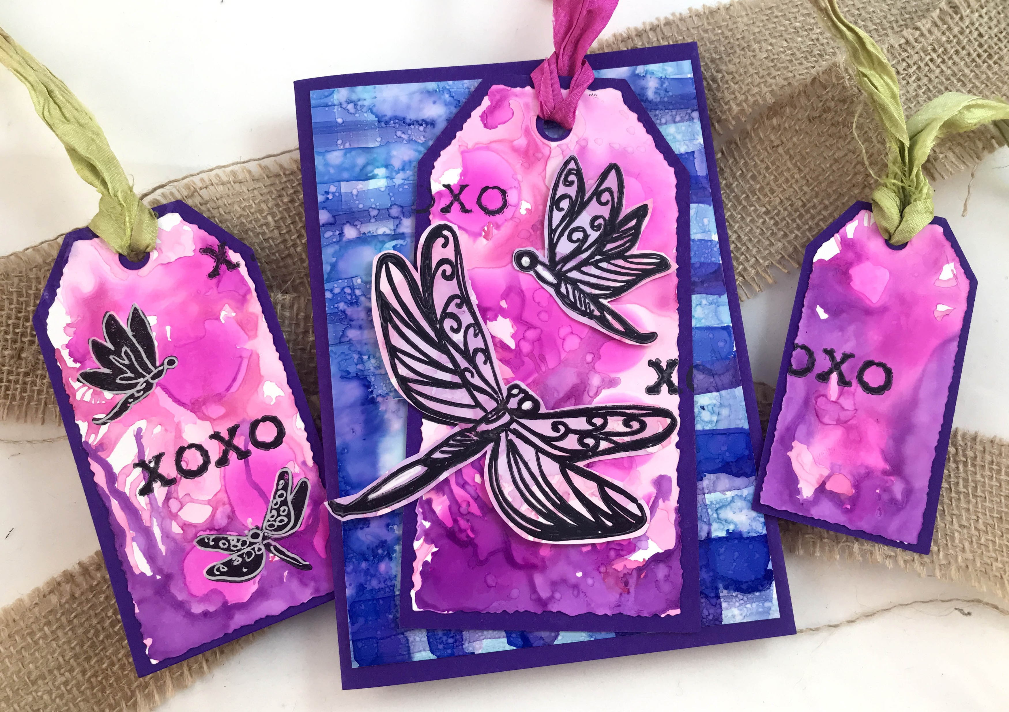 Couture Creations Steampunk Dreams Dies 4/Pkg-Distressed Tags 2.5X5.1