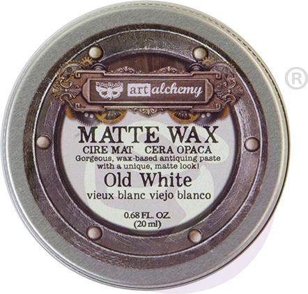 Finnabair Art Alchemy Matte Wax .68 Fluid Ounce-Old White