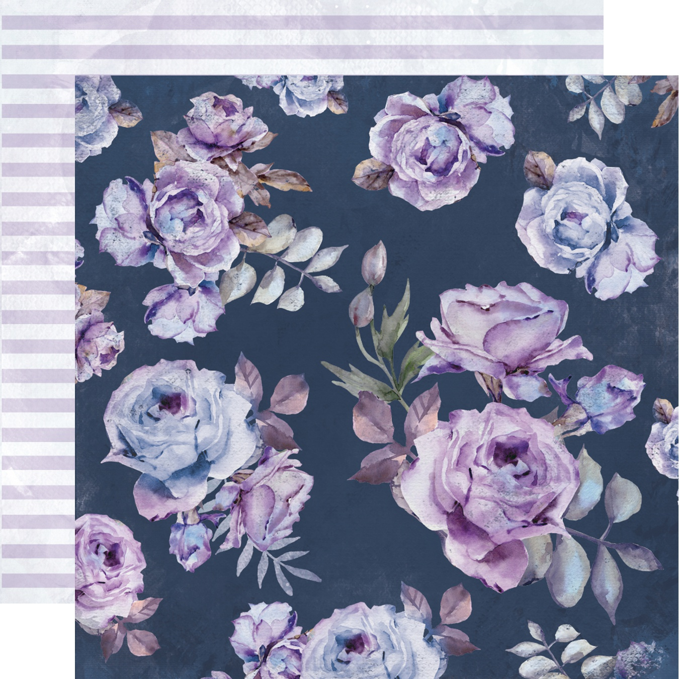 Amethyst Double-Sided Cardstock 12X12-Mistique