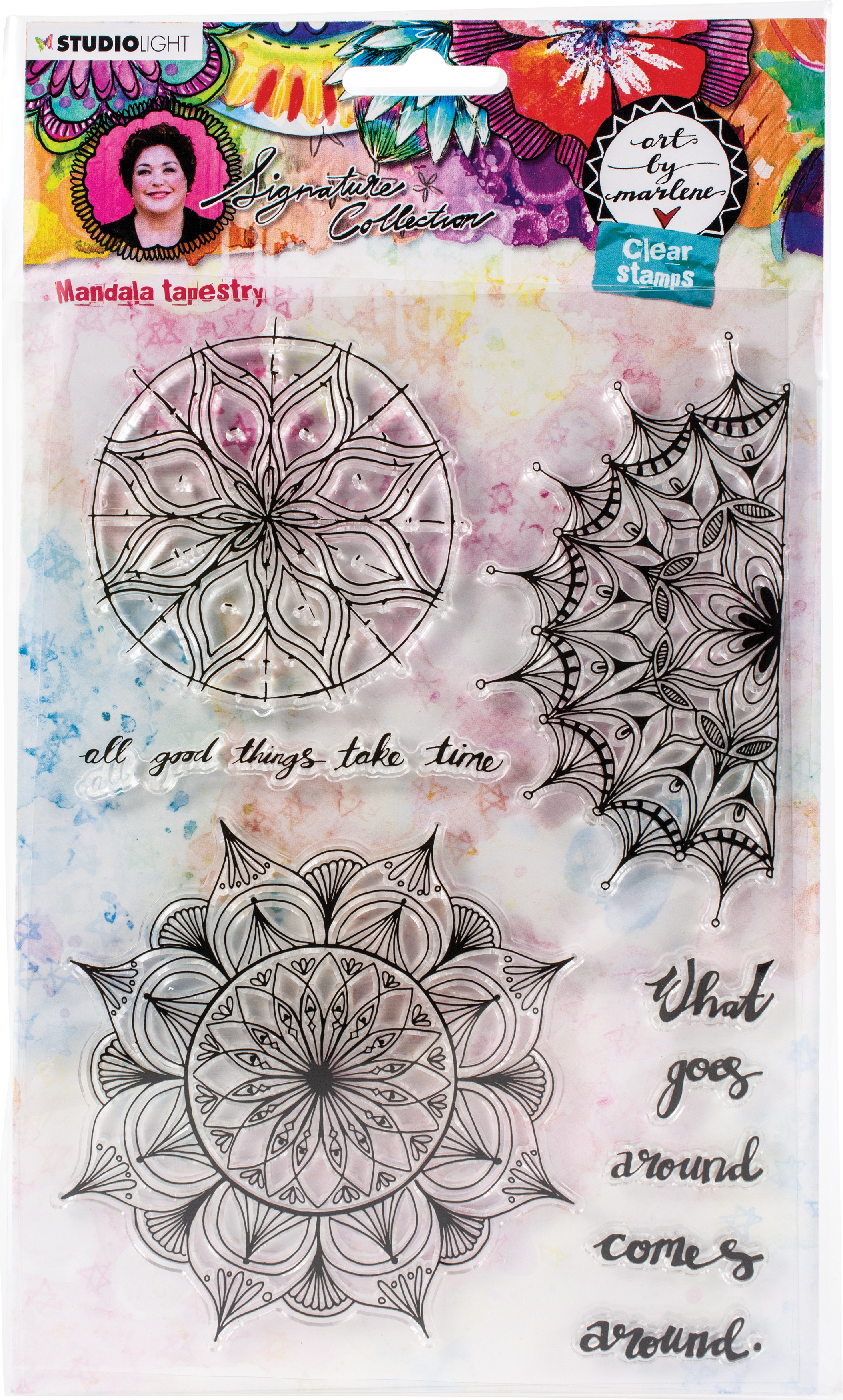 Art By Marlene - 5.0 Clear Stamps - NR. 48