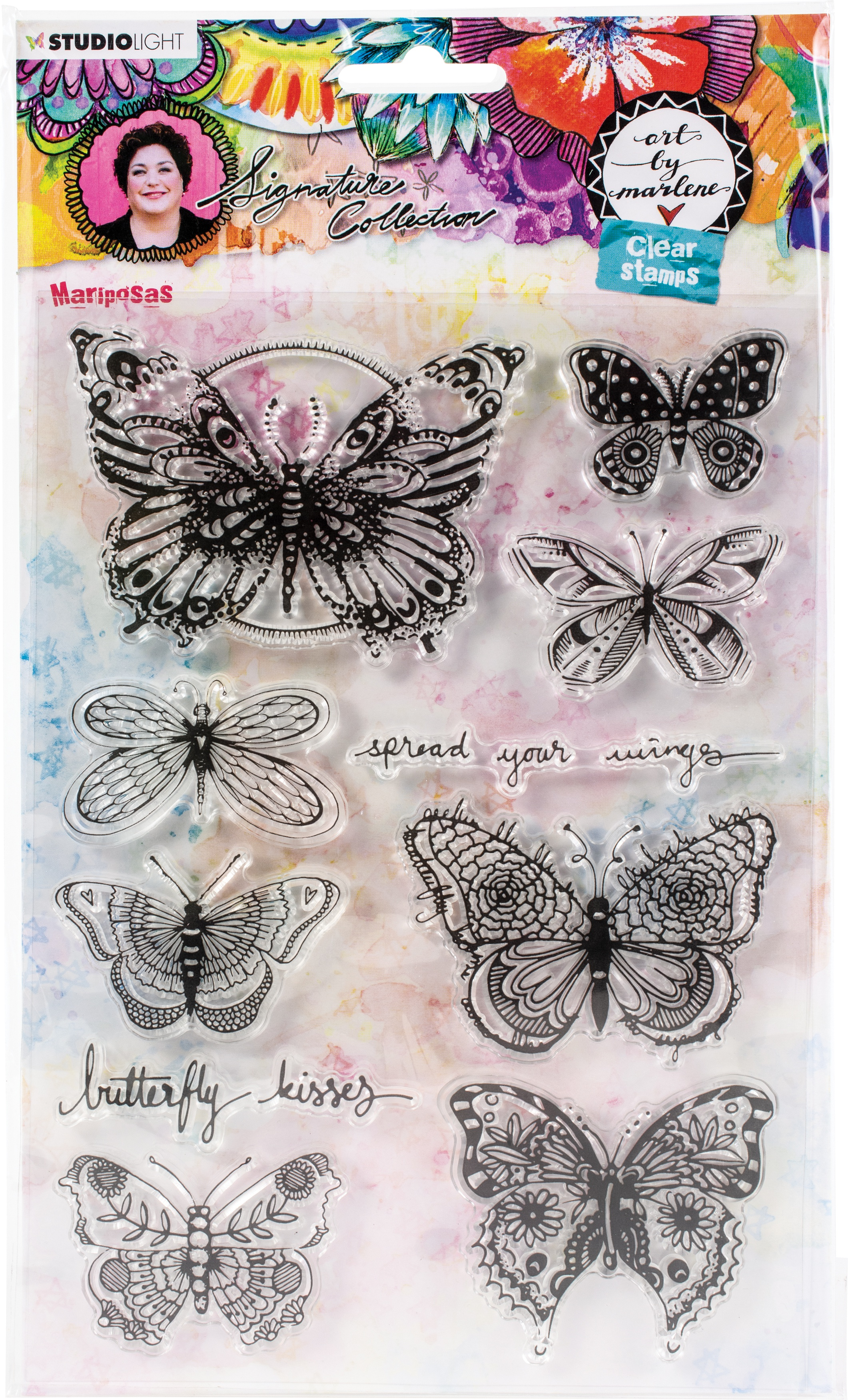 Art By Marlene - 5.0 Clear Stamps - NR. 49