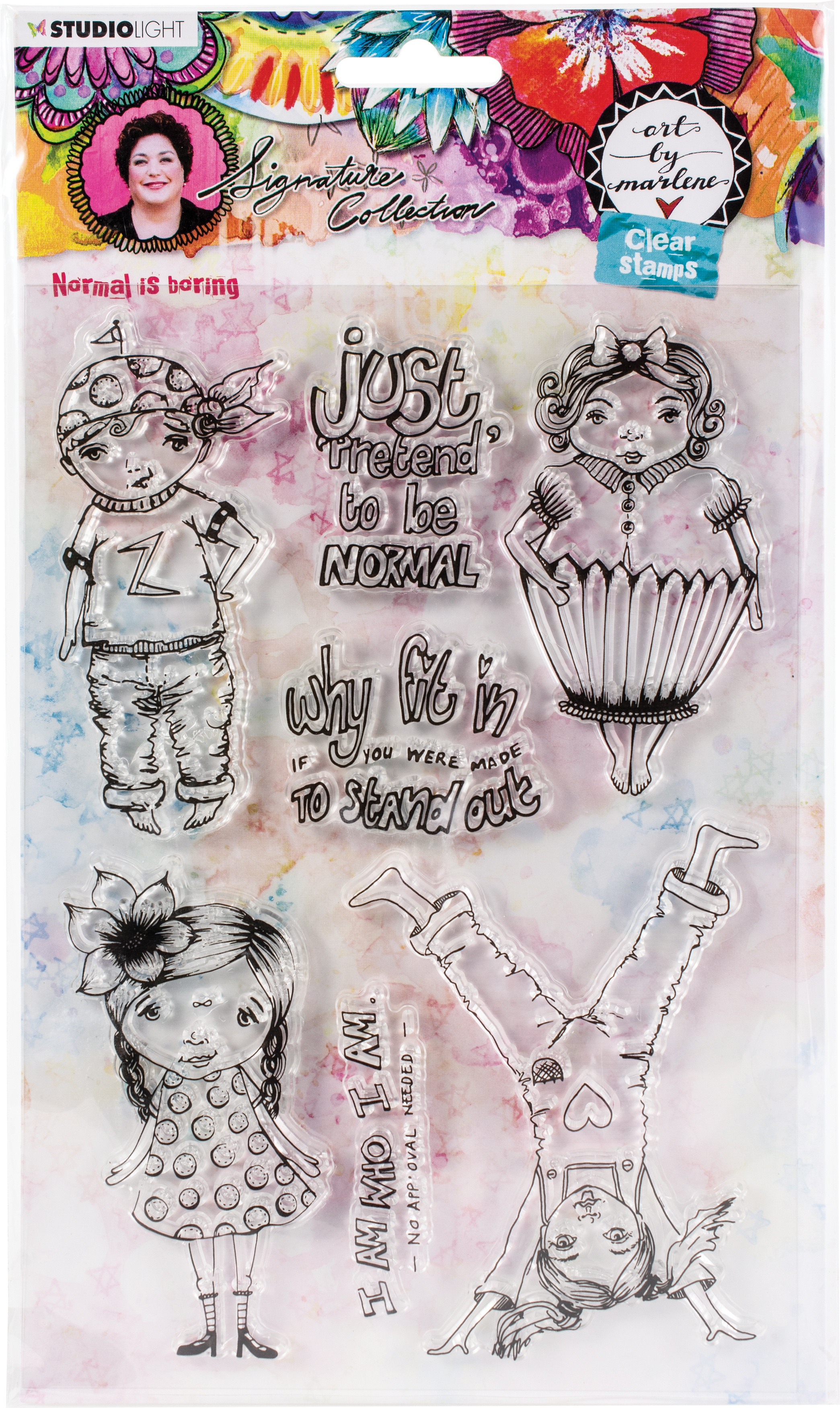 Art By Marlene - 5.0 Clear Stamps - NR. 52