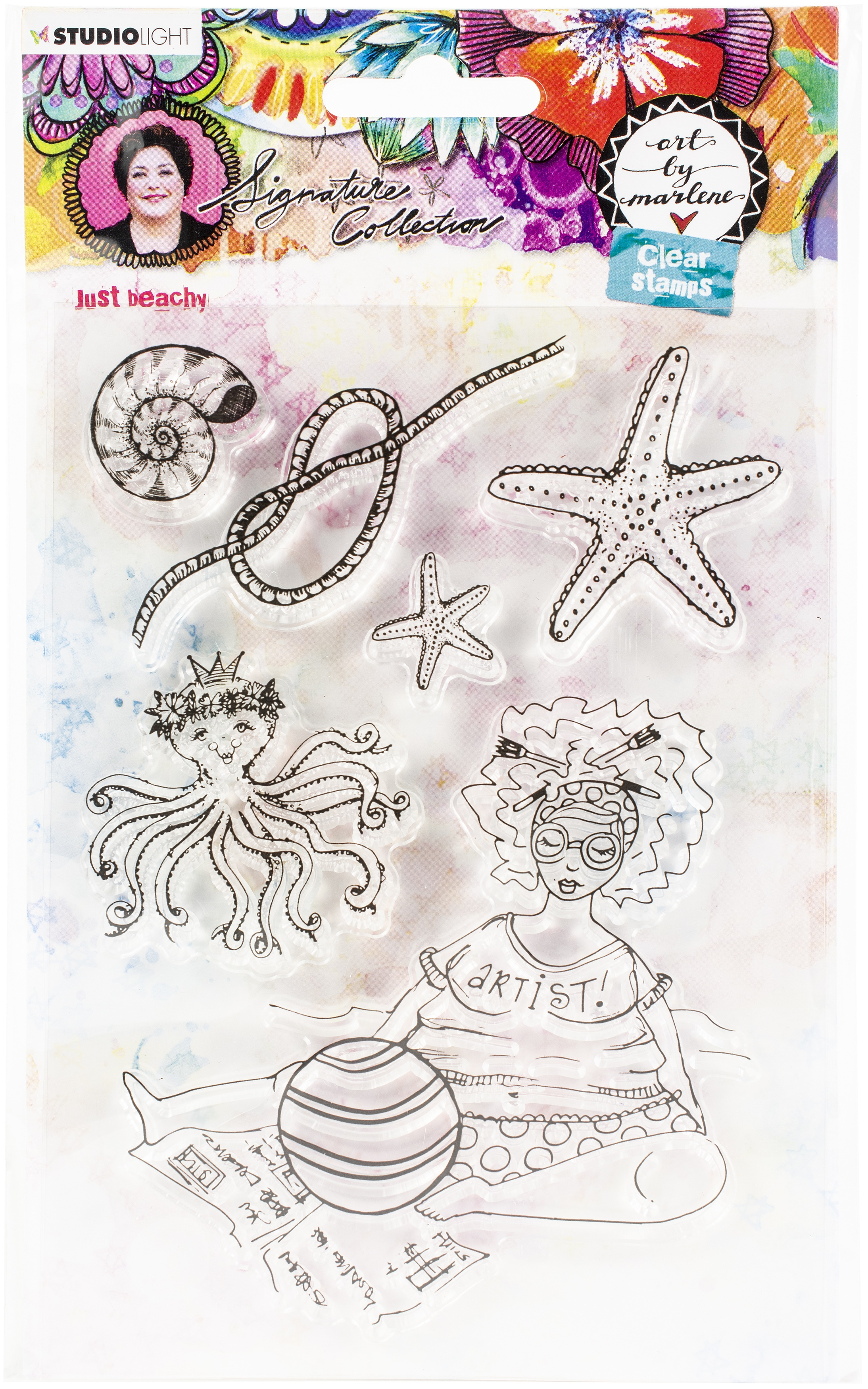 Studio Light Art By Marlene 5.0 Clear Stamps-NR. 53