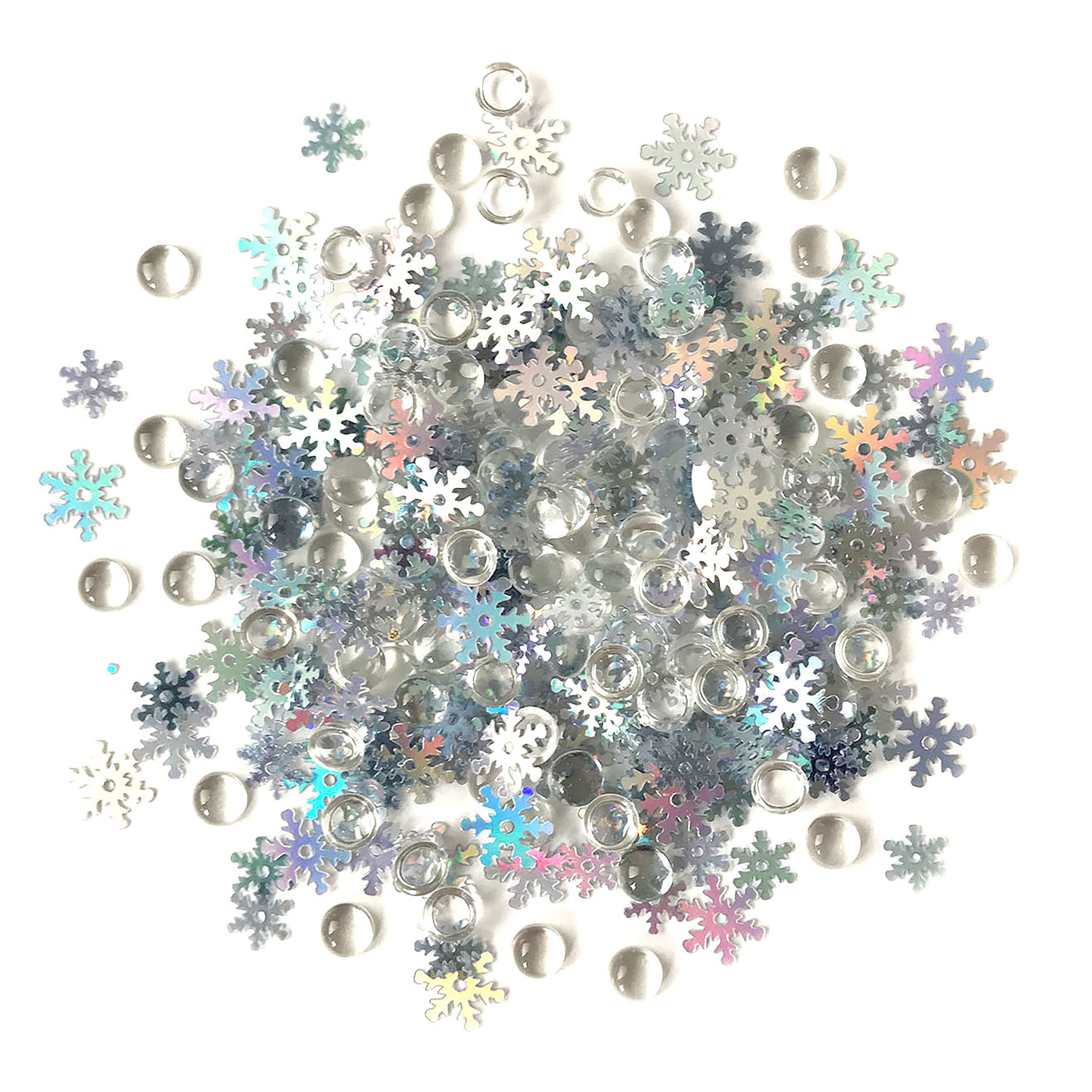 Shimmerz Embellishments Snow Squall
