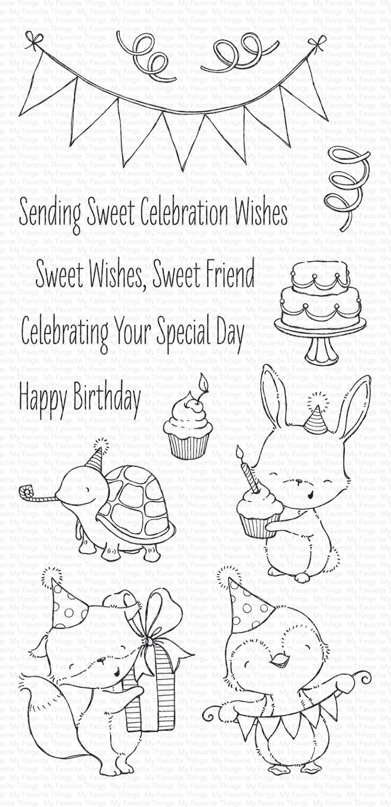 Sending Sweet Celebration Stamp