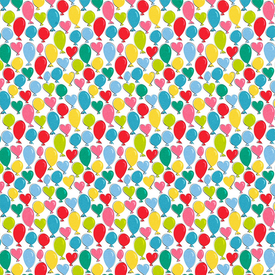 Cake Smash Double-Sided Cardstock 12X12-Balloon Time