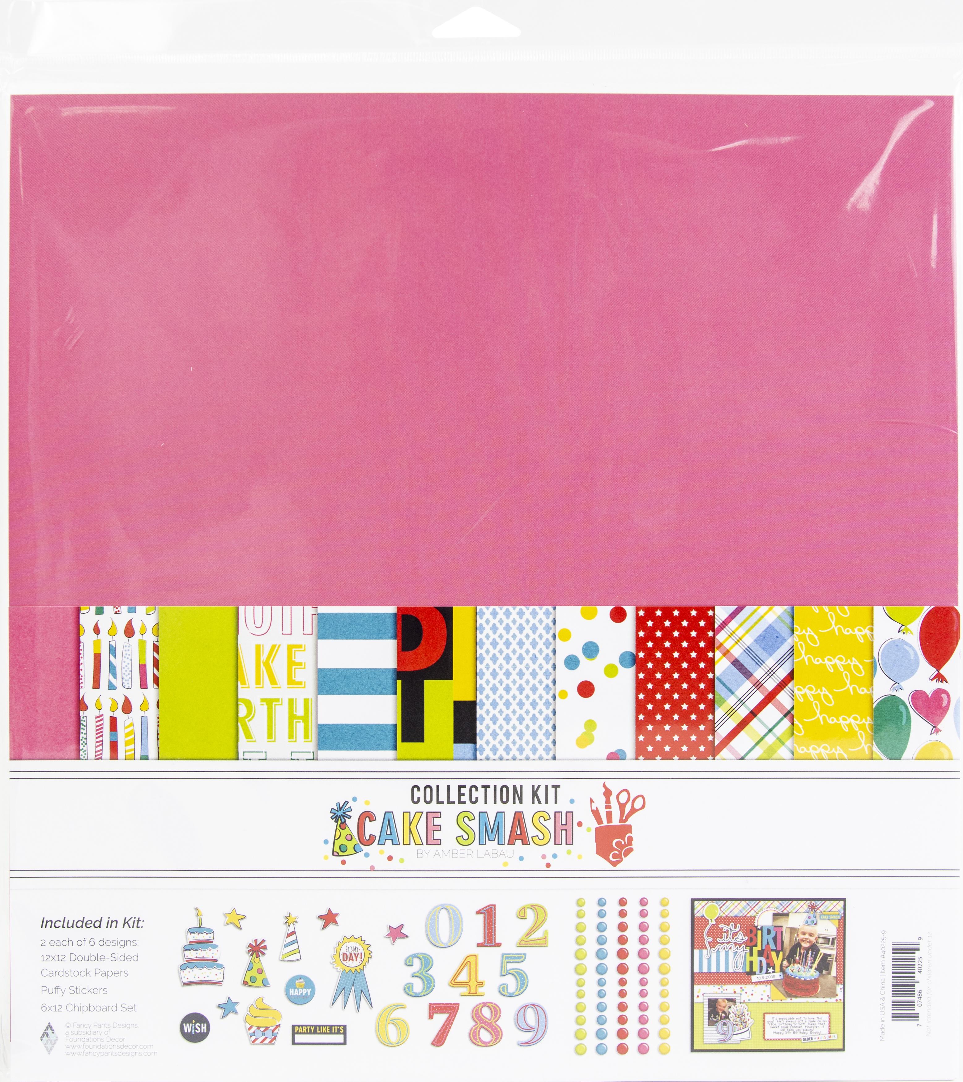 Fancy Pants Designs Collection Kit 12X12-Cake Smash