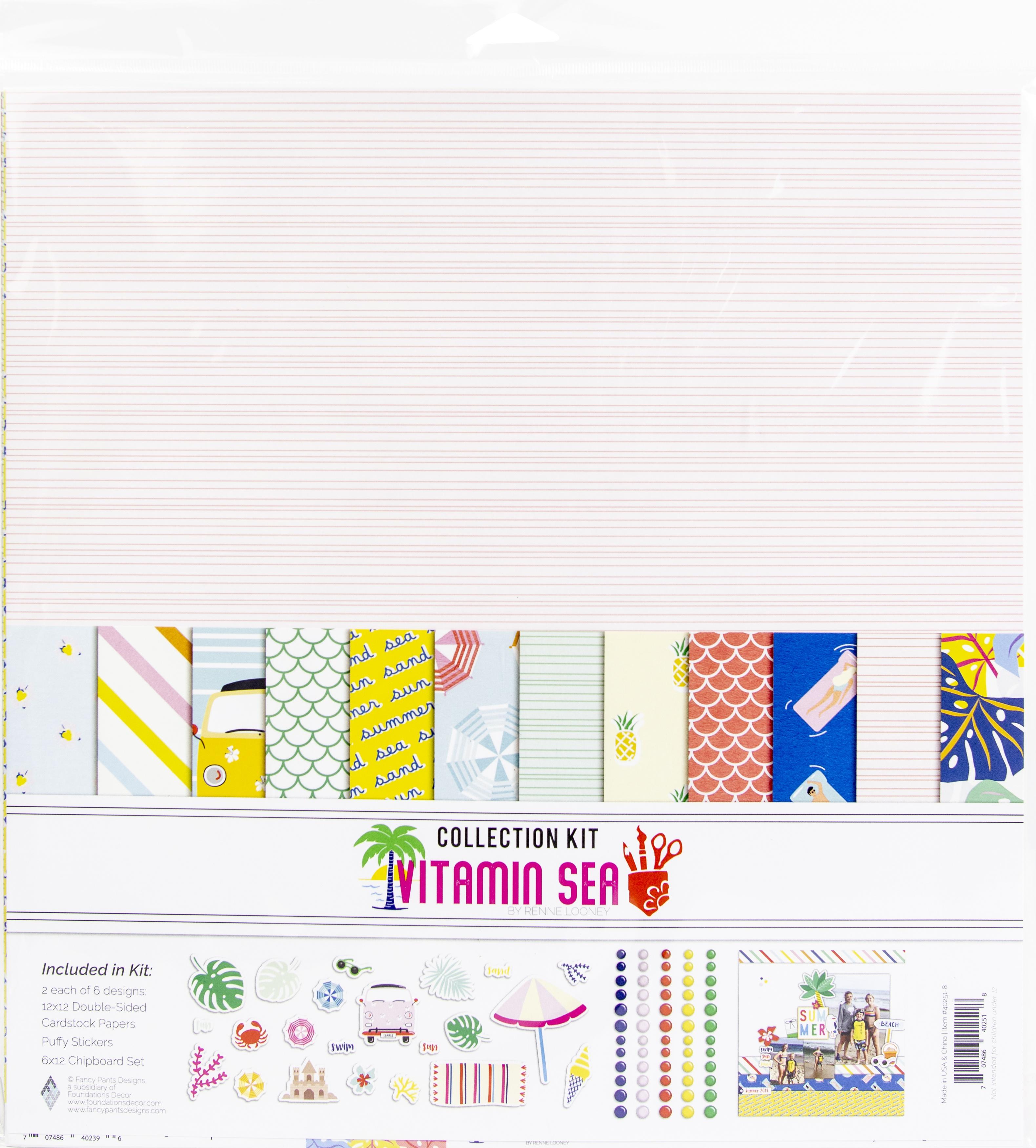 Fancy Pants Designs Collection Kit 12X12-Vitamin Sea