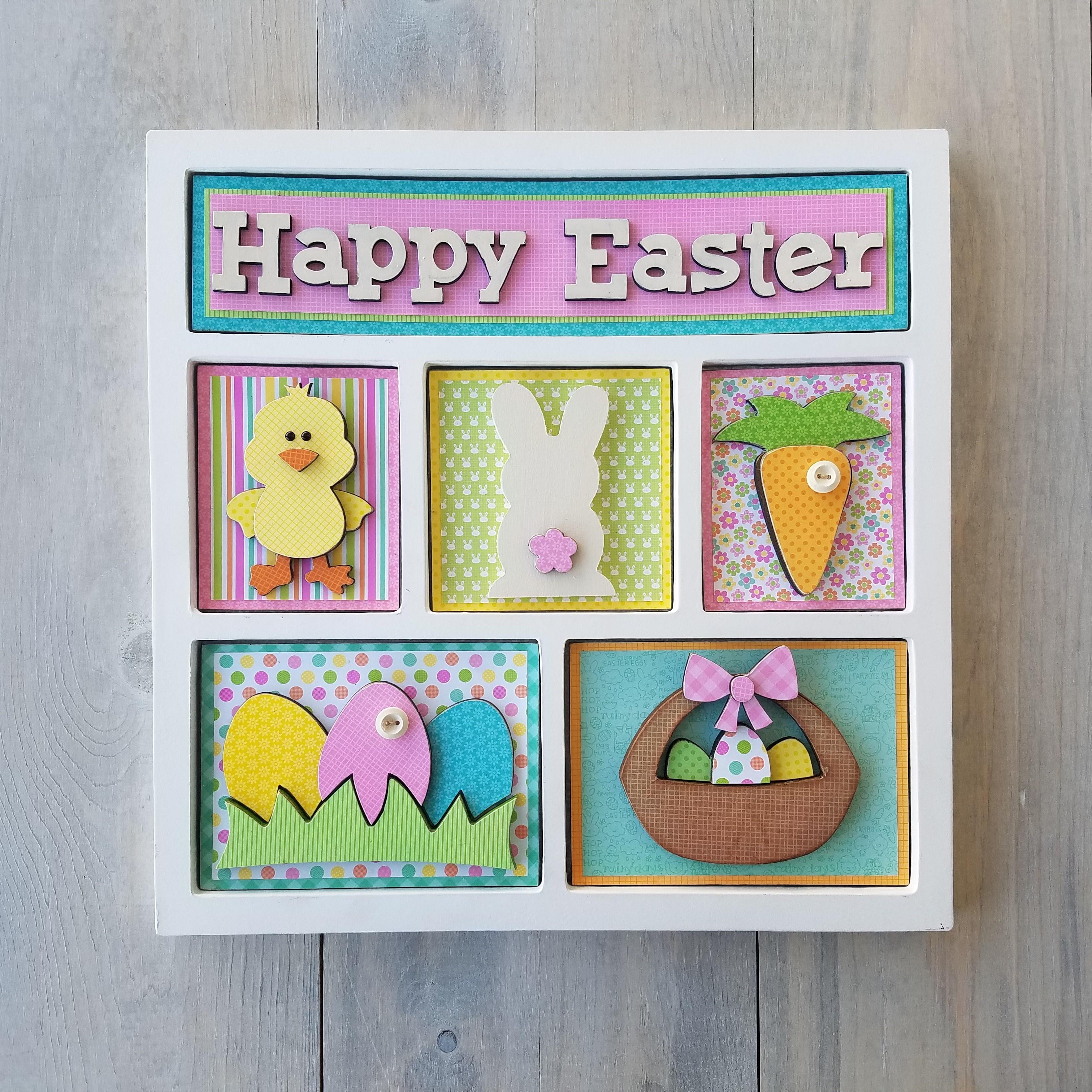 Easter Shadow Box Kit