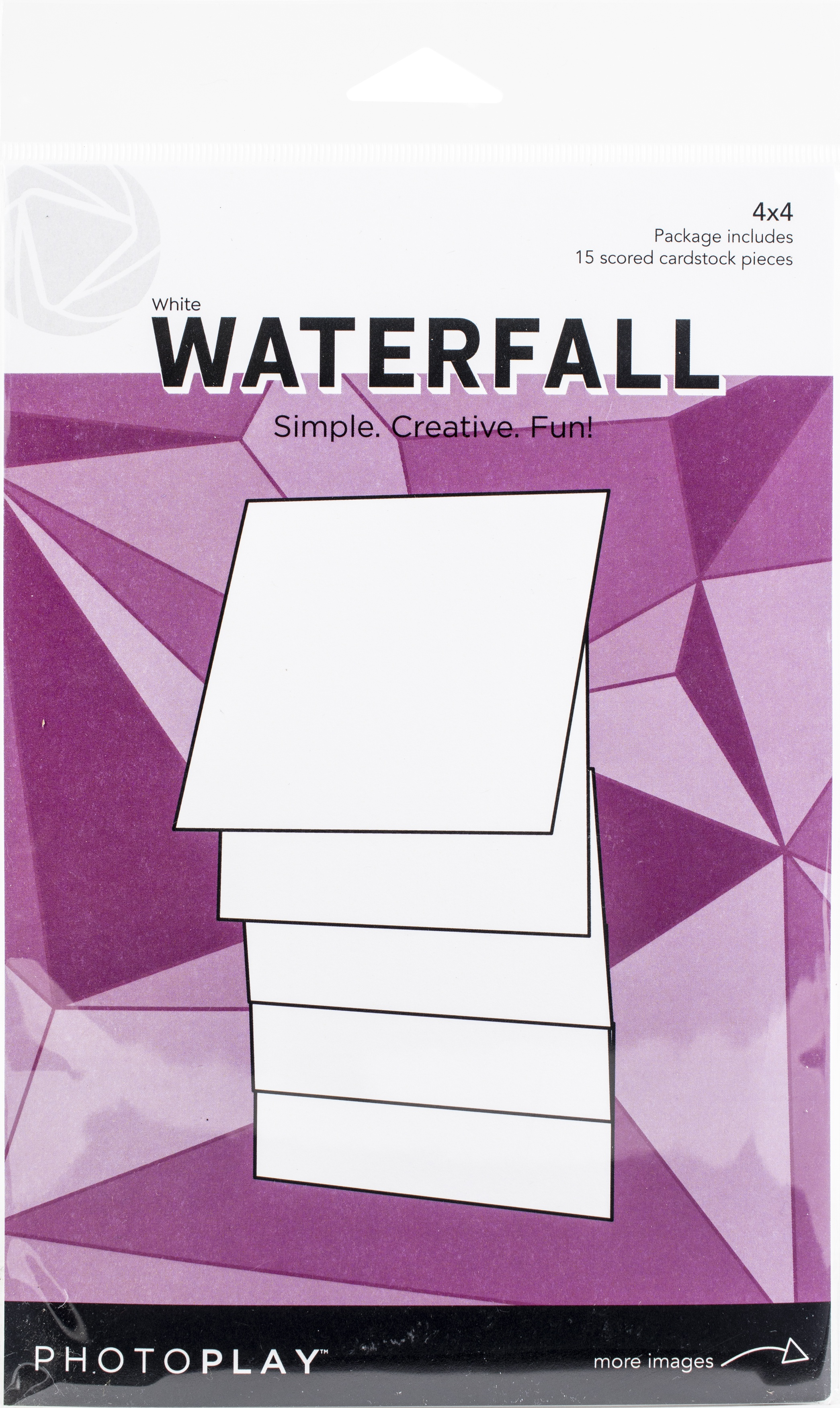 PhotoPlay Maker Series 4x4 Manual - White Waterfall
