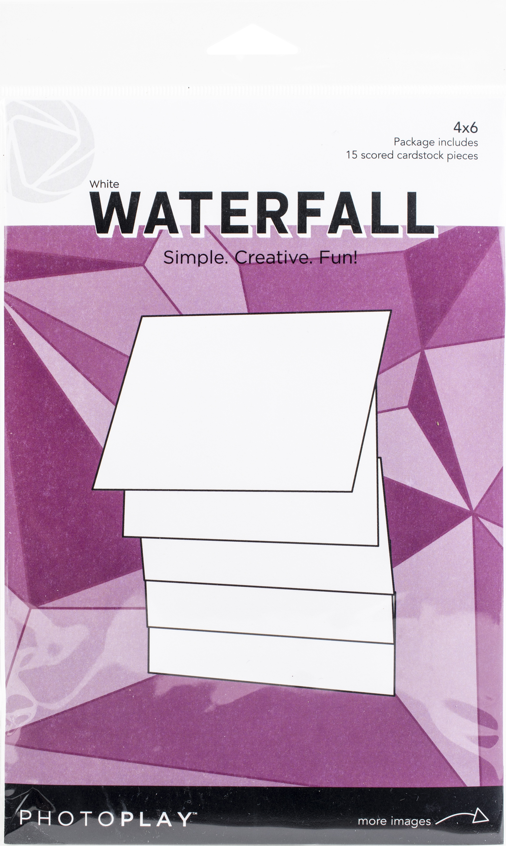 PhotoPlay Maker Series 4X6 Manual-White Waterfall