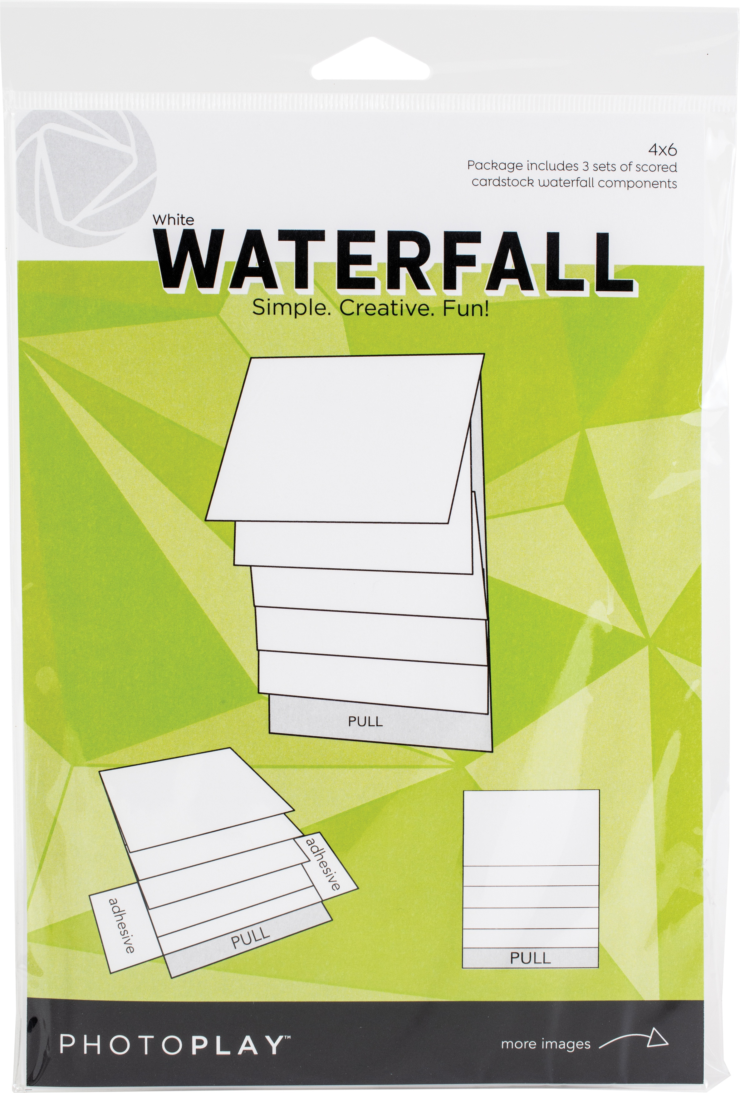 PhotoPlay Maker Series 4X6 Mechanical-White Waterfall