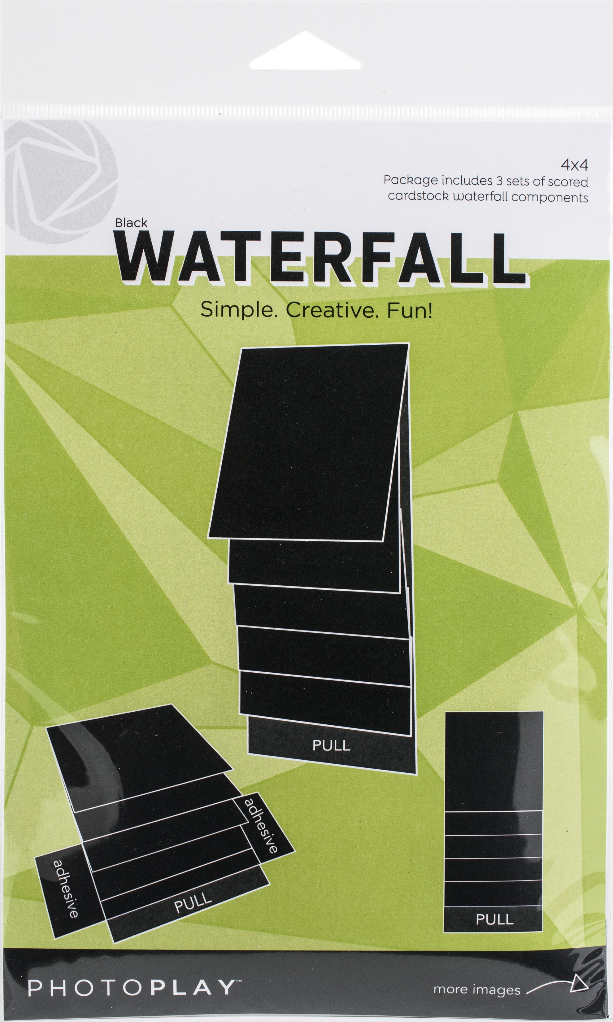 PhotoPlay Maker Series 4x4 Mechanical-Black Waterfal