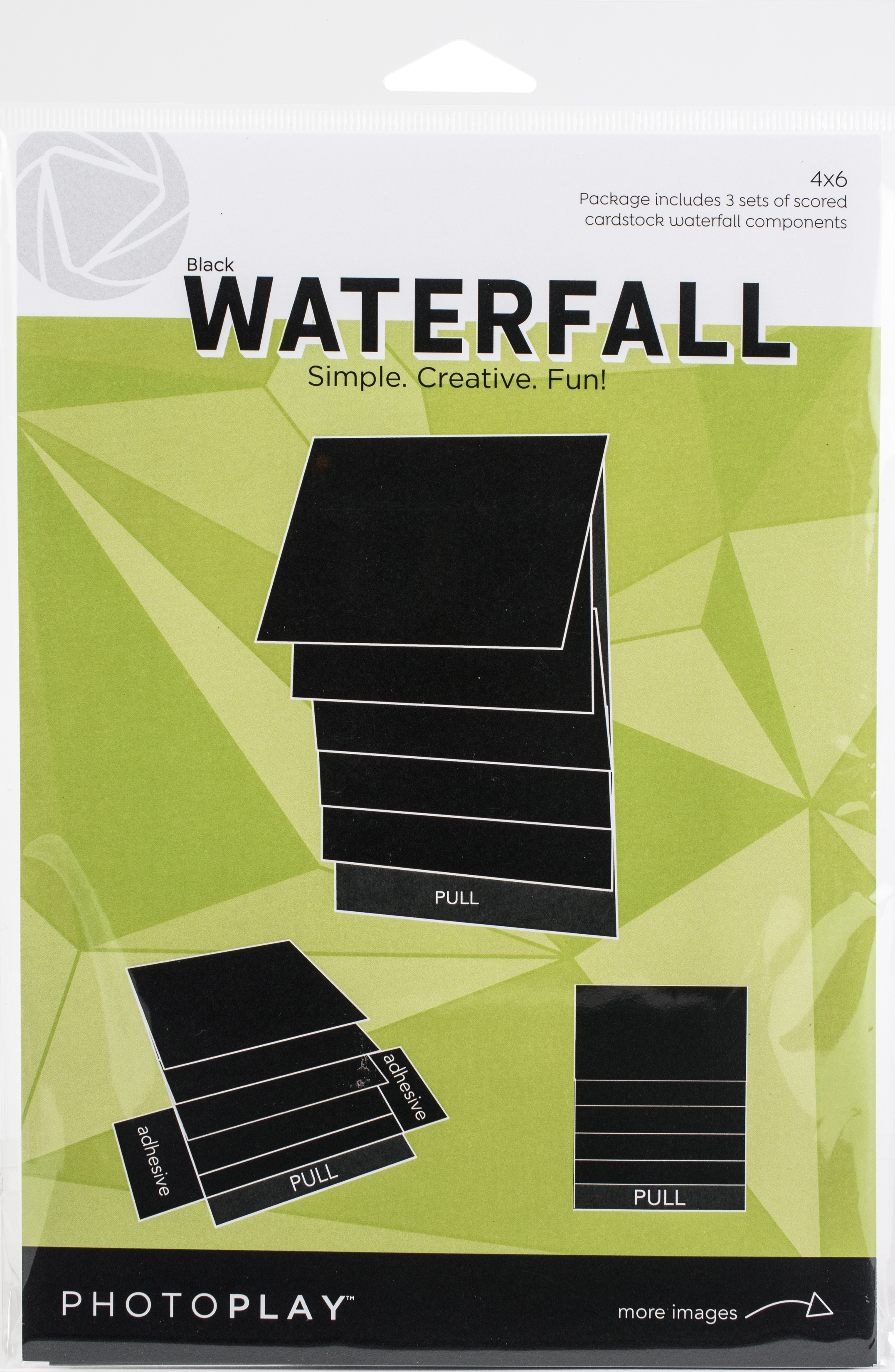 PhotoPlay Maker Series 4x6 Waterfall - Black, Mechanical