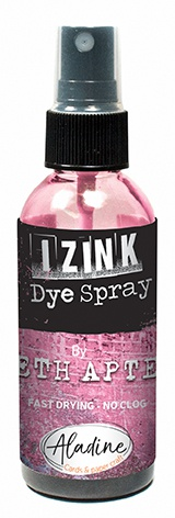 IZINK Aladine Dye Spray Seth Apter 80ml-Flamingo