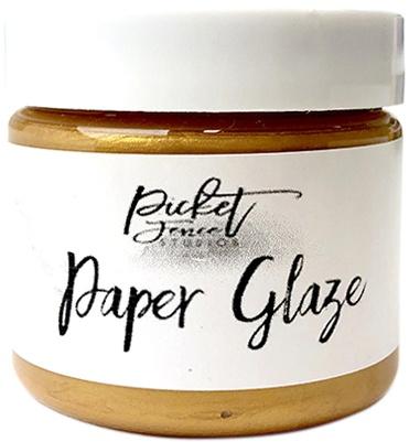 Picket Fence Paper Glaze - Golden Rose