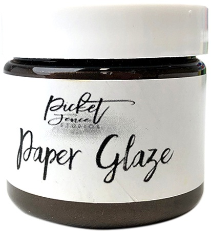 Picket Fence Paper Glaze - Brown Dahlia