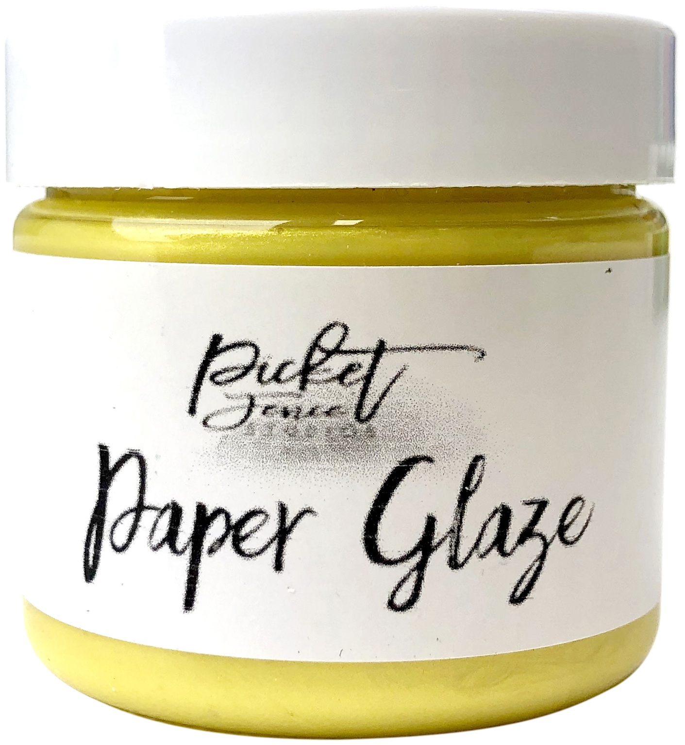Picket Fence Paper Glaze - Daffodil Yellow
