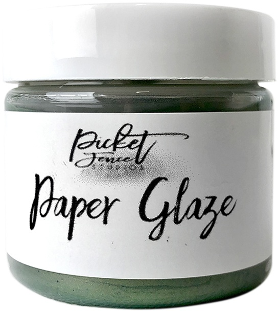 Picket Fence Paper Glaze - Fern Green
