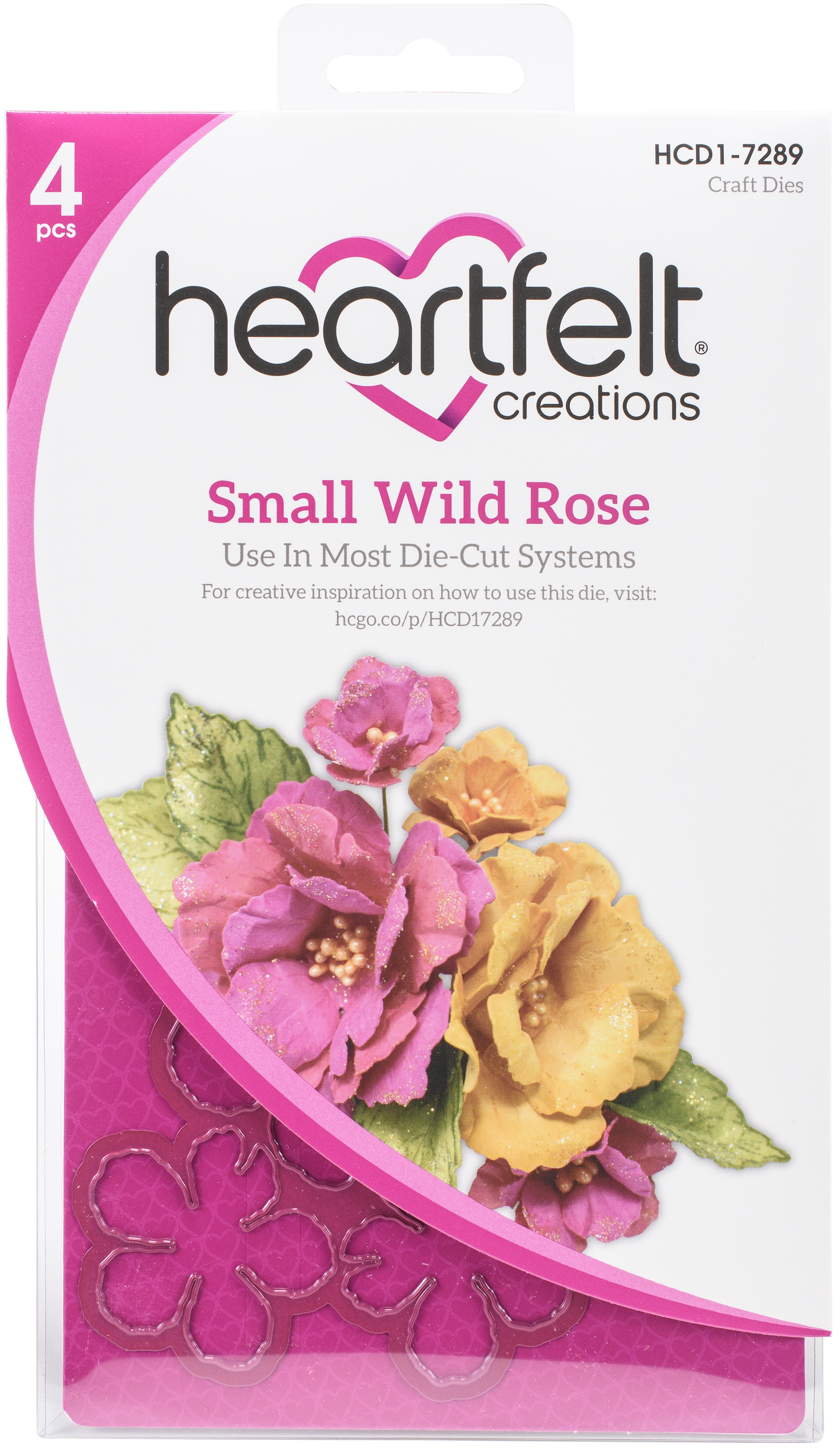 Small Wild Rose Die