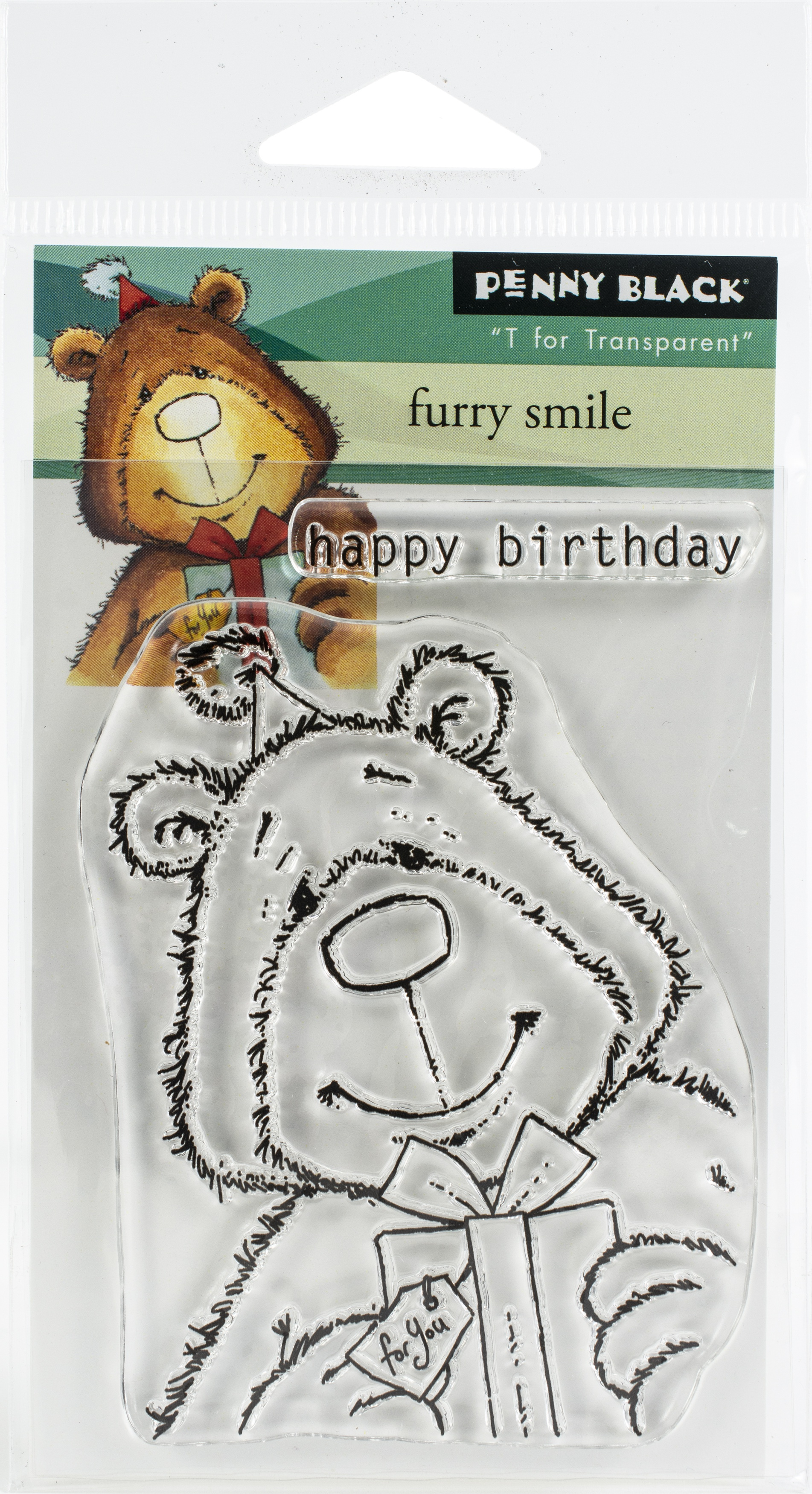 Penny Black Clear Stamps-Furry Smile
