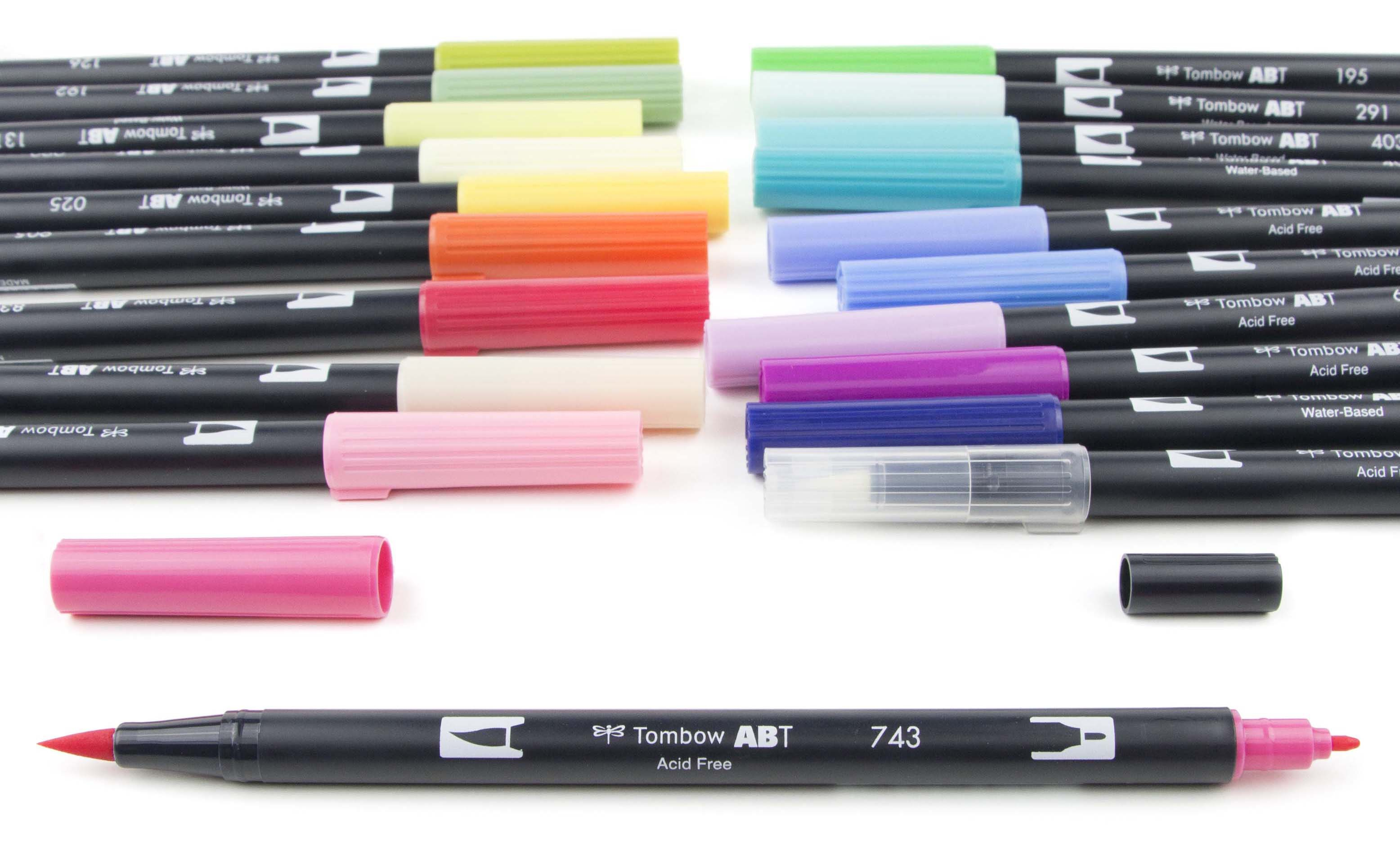 Tombow Dual Brush Pens 20/Pkg-THREE CHOICES