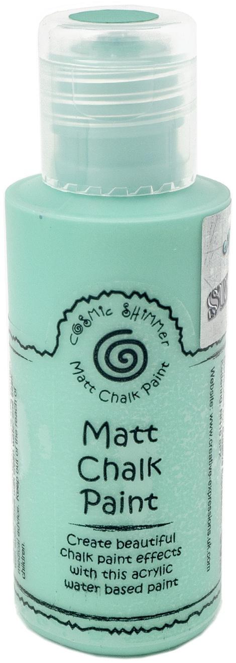 Cosmic Shimmer Matt Chalk Paint 50ml By Andy Skinner-Ocean Breeze