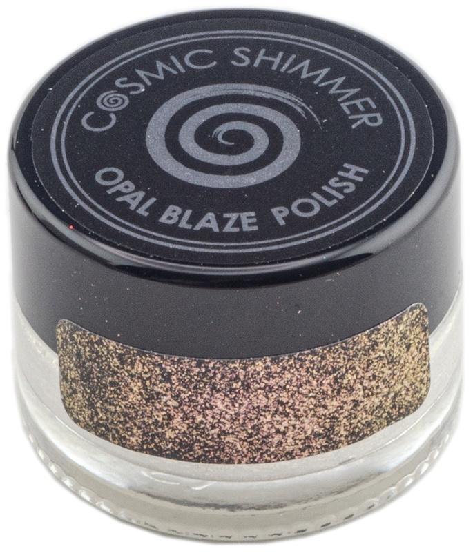 Cosmic Shimmer Opal Blaze Polish 7g-Golden Blackberry