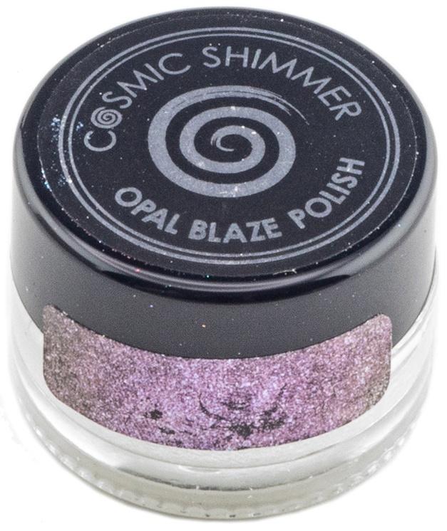 Cosmic Shimmer Opal Blaze Polish 7g-Pink Blueberry