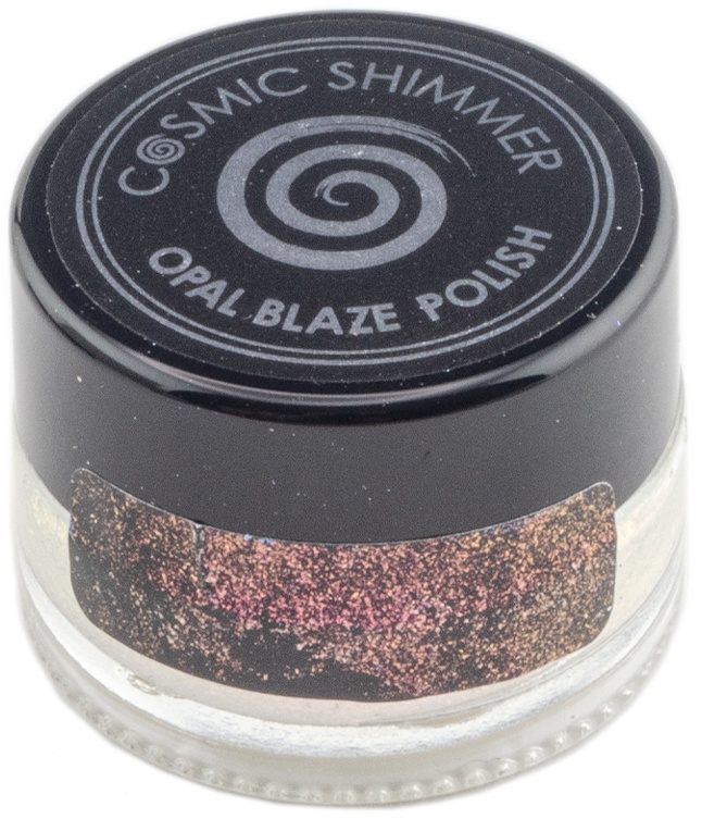 Cosmic Shimmer Opal Blaze Polish 7g-Sunset Orange
