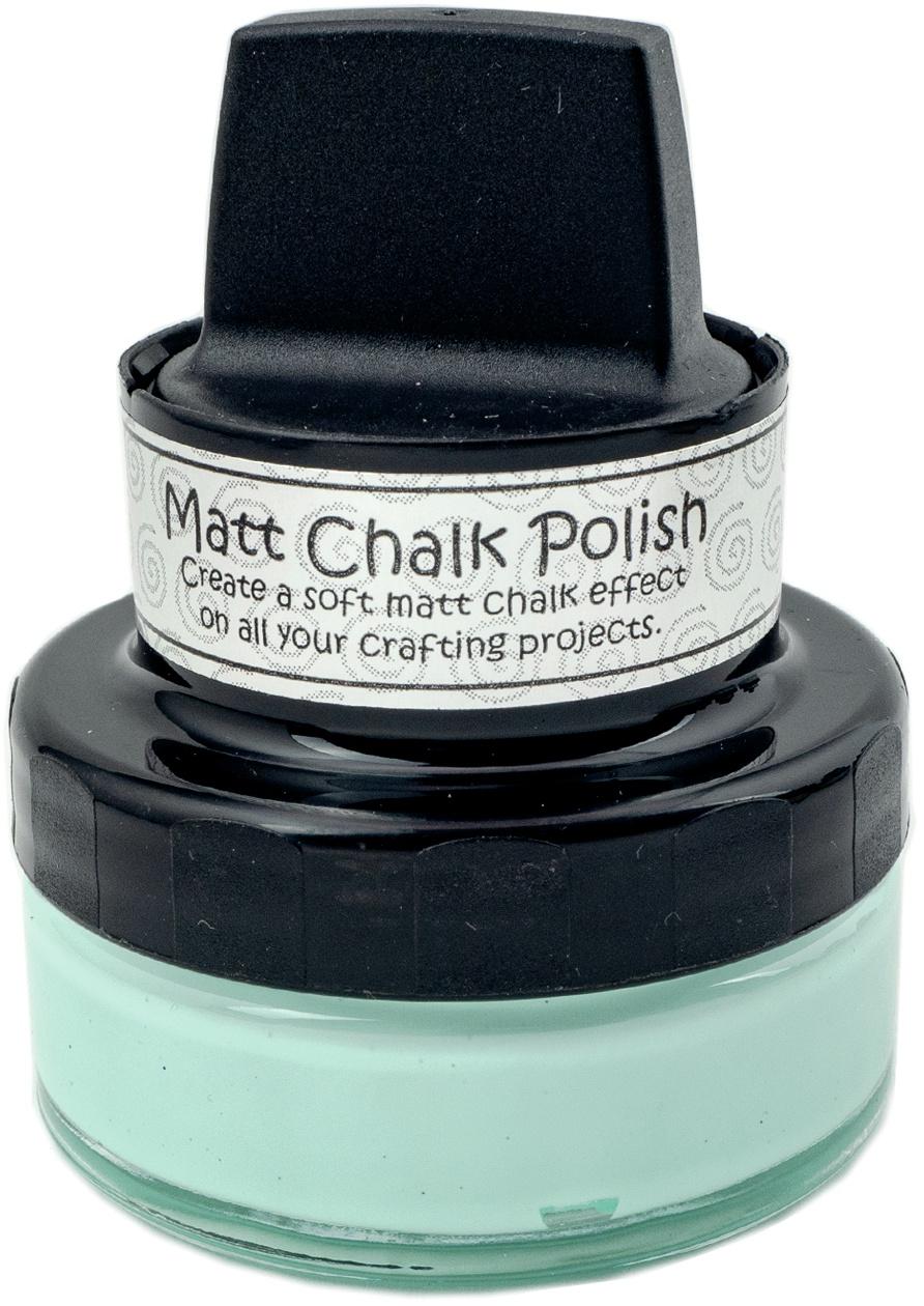 Cosmic Shimmer Matt Chalk Polish 50ml-Aqua