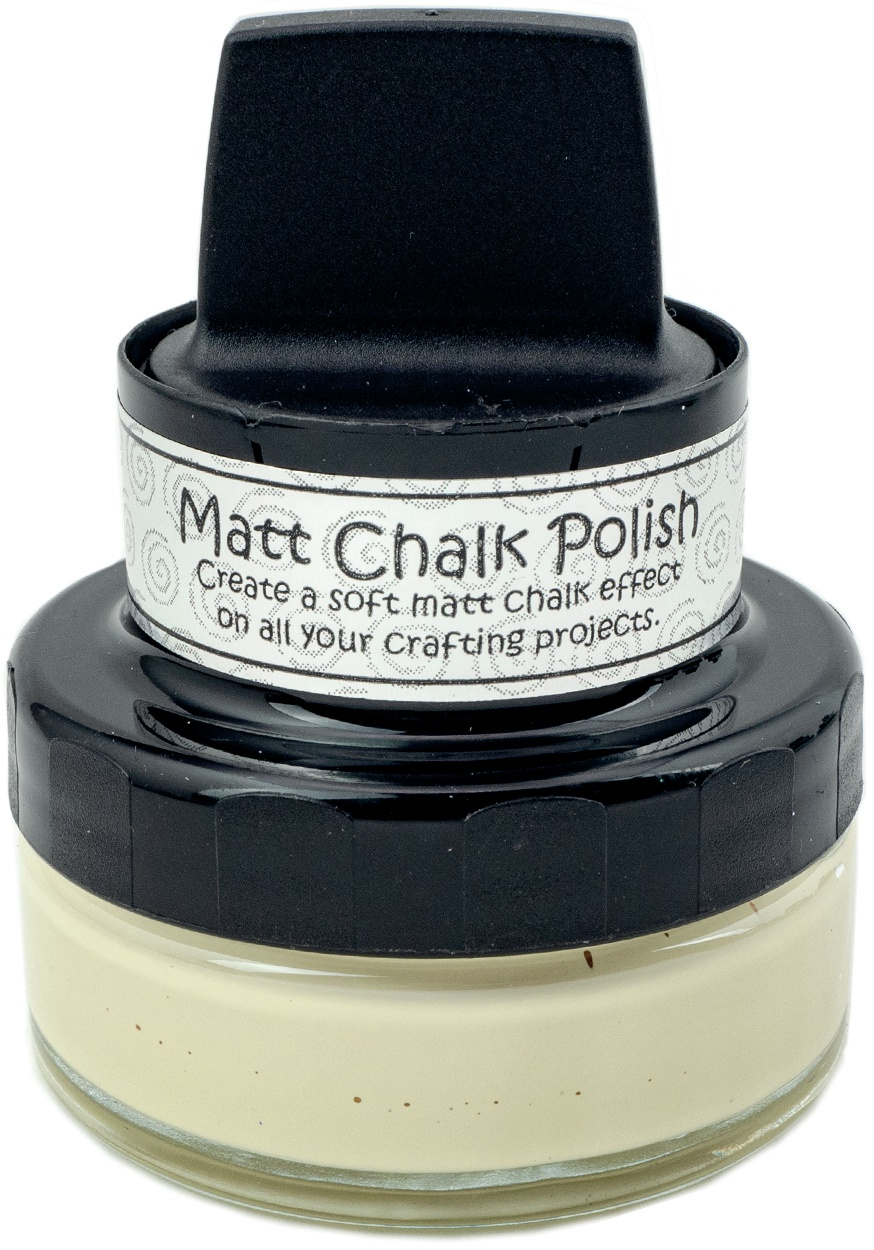 Cosmic Shimmer Matt Chalk Polish 50ml-Custard
