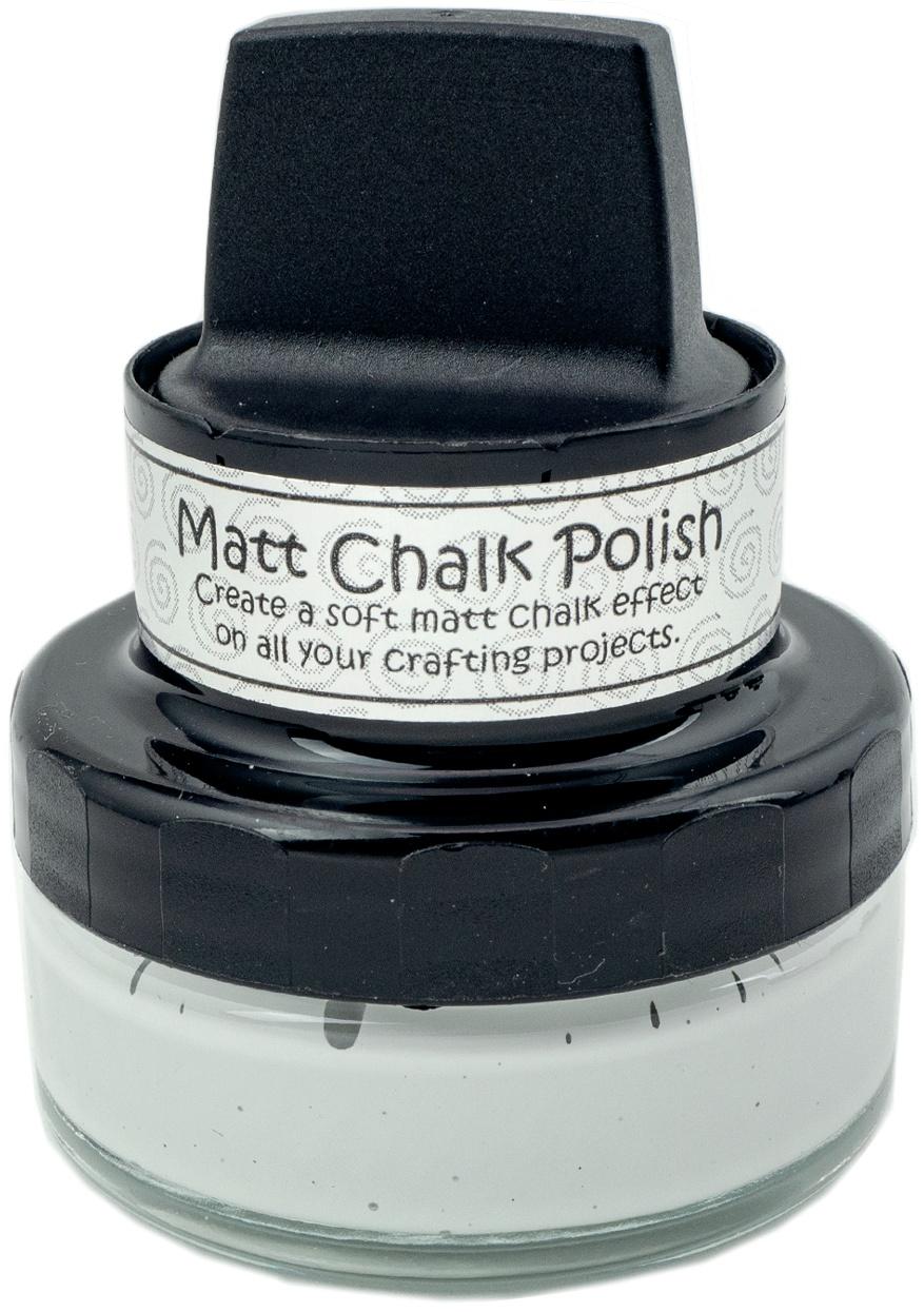 Cosmic Shimmer Matt Chalk Polish 50ml-Pale Grey