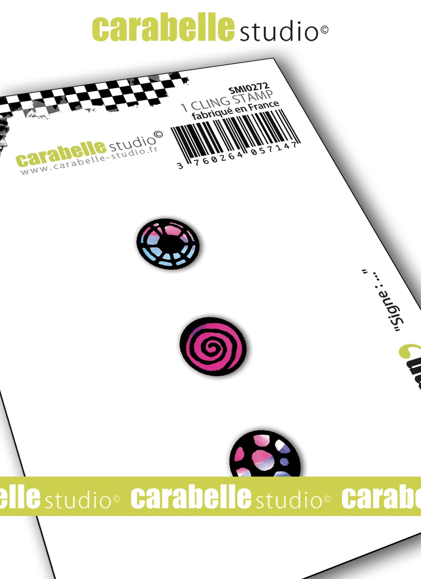Carabelle Studio Cling Stamp Small-...