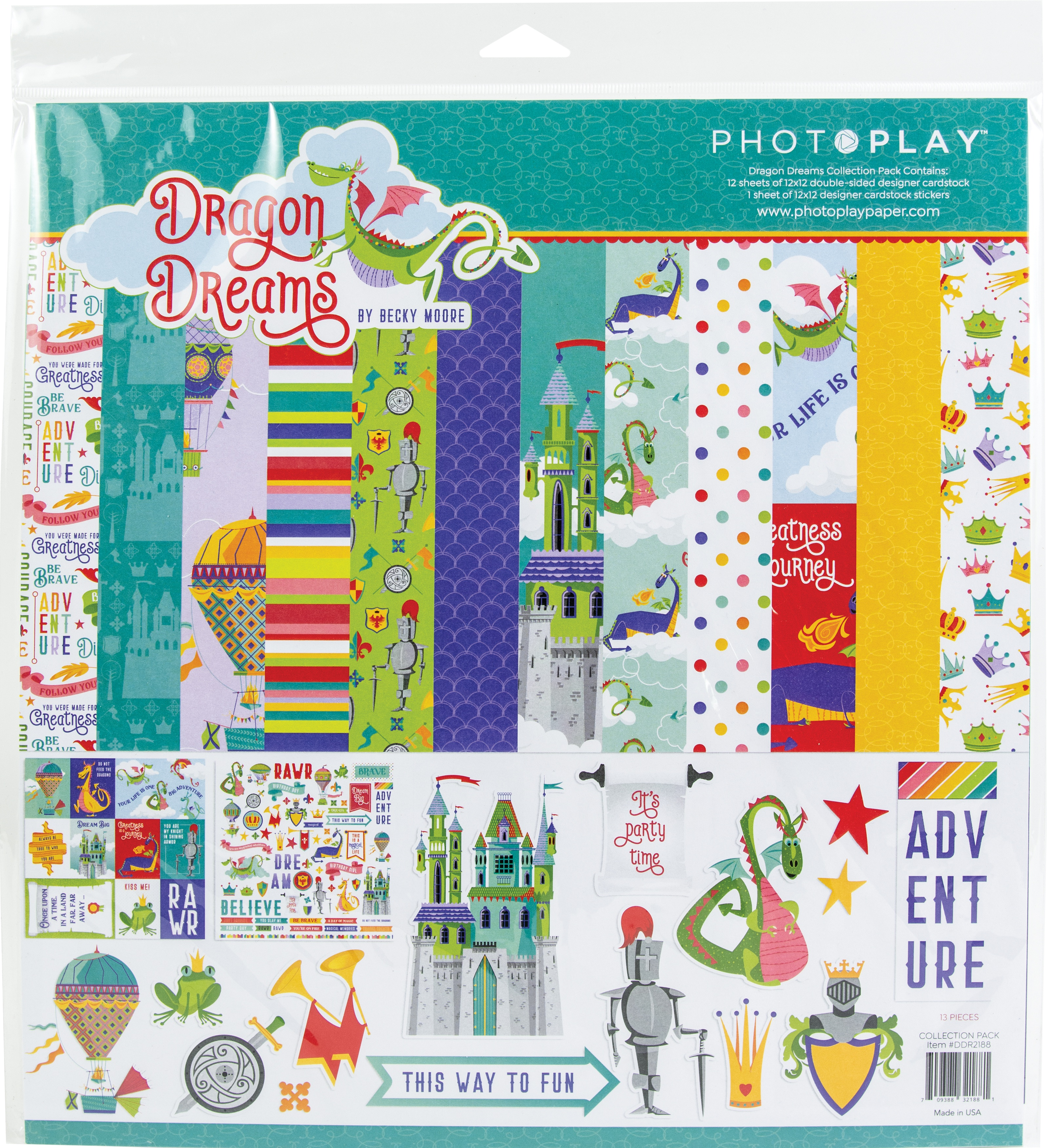 PhotoPlay Collection Pack 12X12-Dragon Dreams