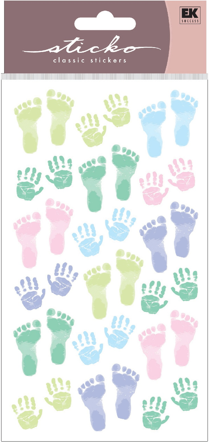 Sticko Stickers-Pastel Baby Prints