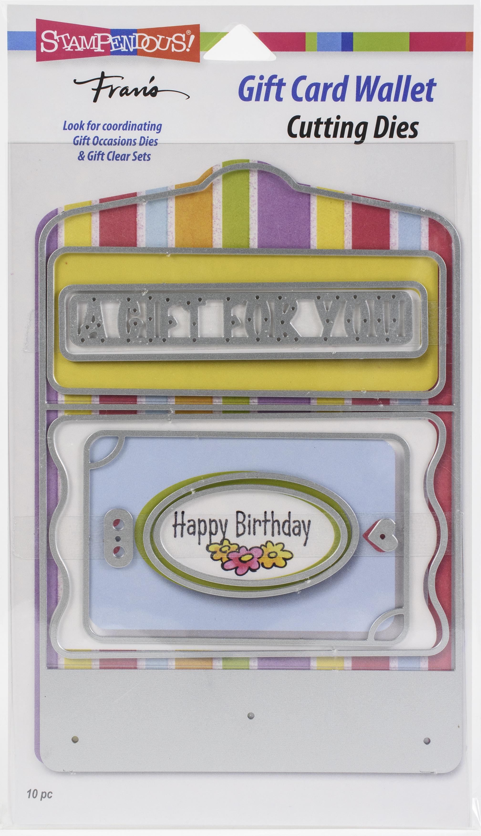 Stampendous Dies-Gift Card Wallet